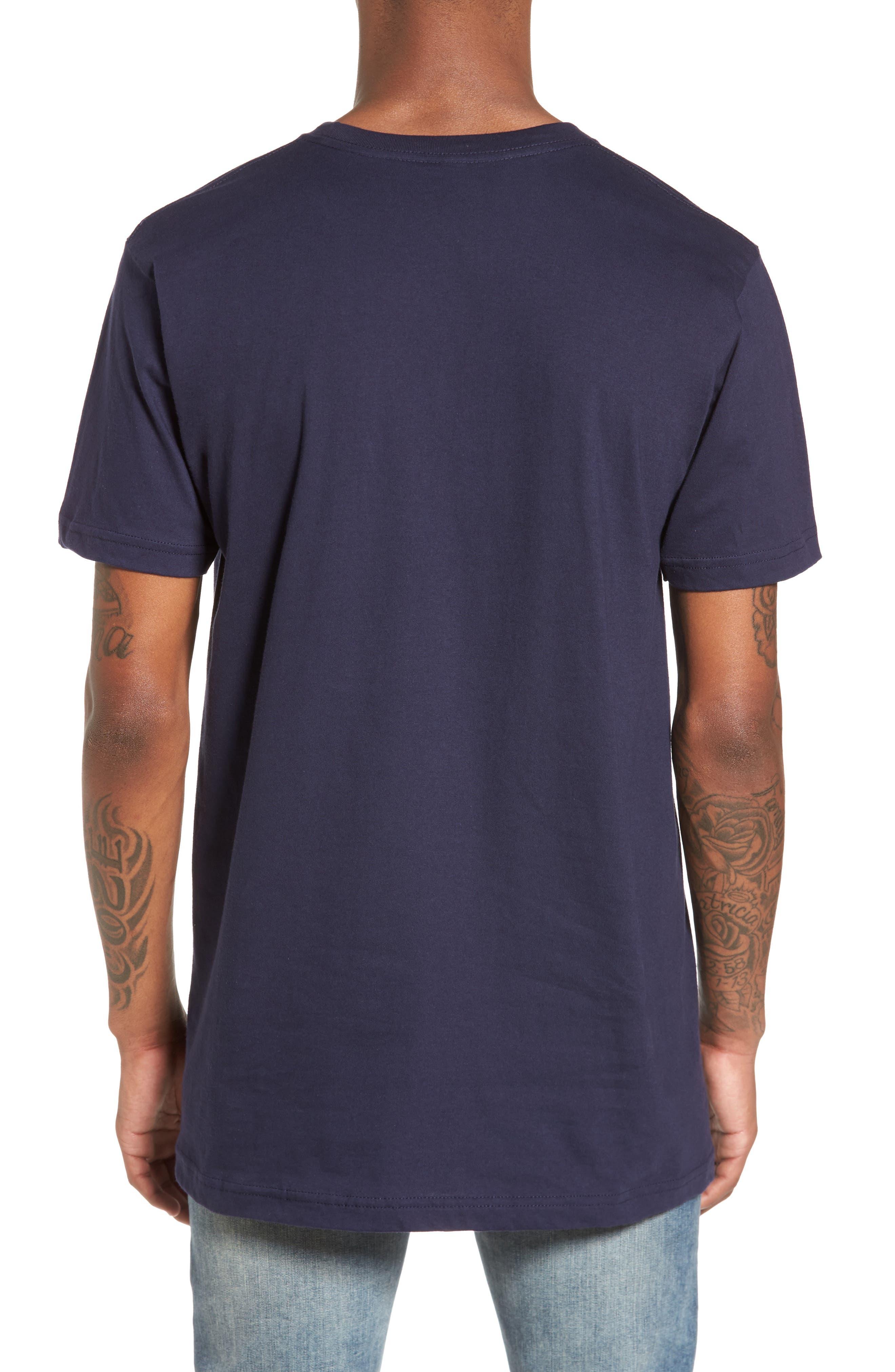 I'm So Hood T-Shirt,                             Alternate thumbnail 2, color,                             Navy Blue