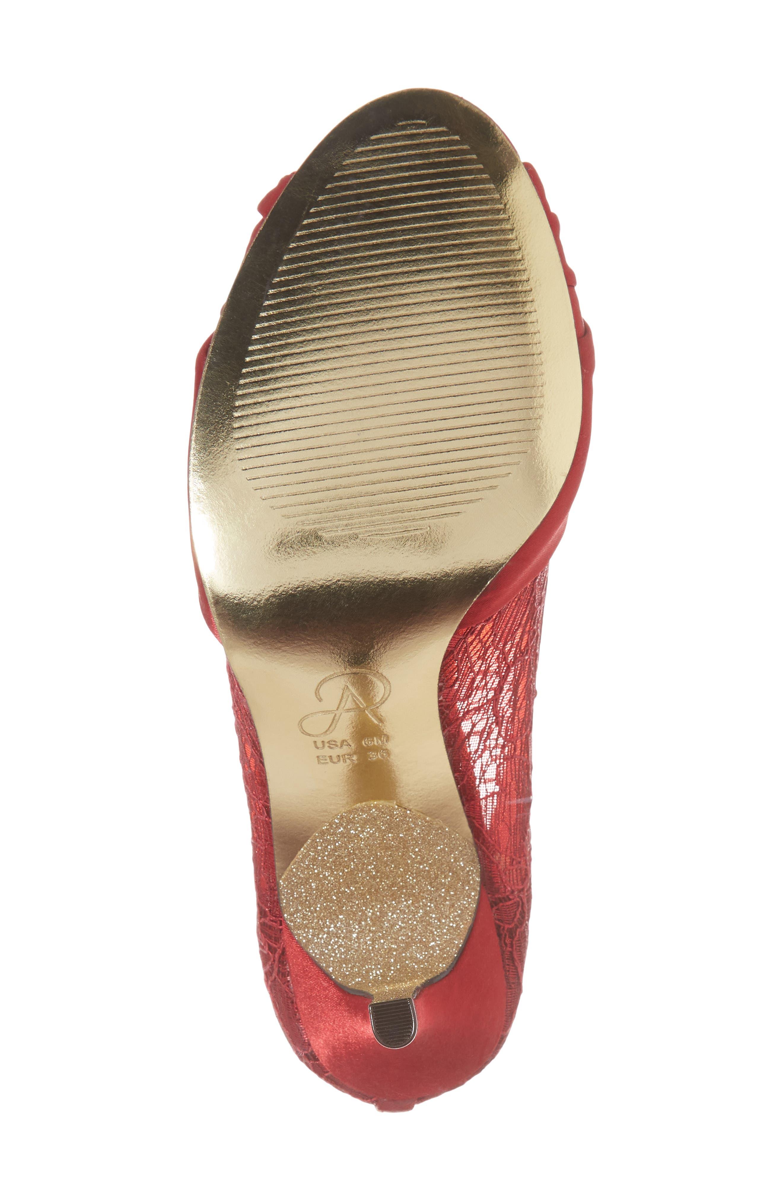 Alternate Image 6  - Adrianna Papell Francesca Knotted Peep Toe Pump (Women)