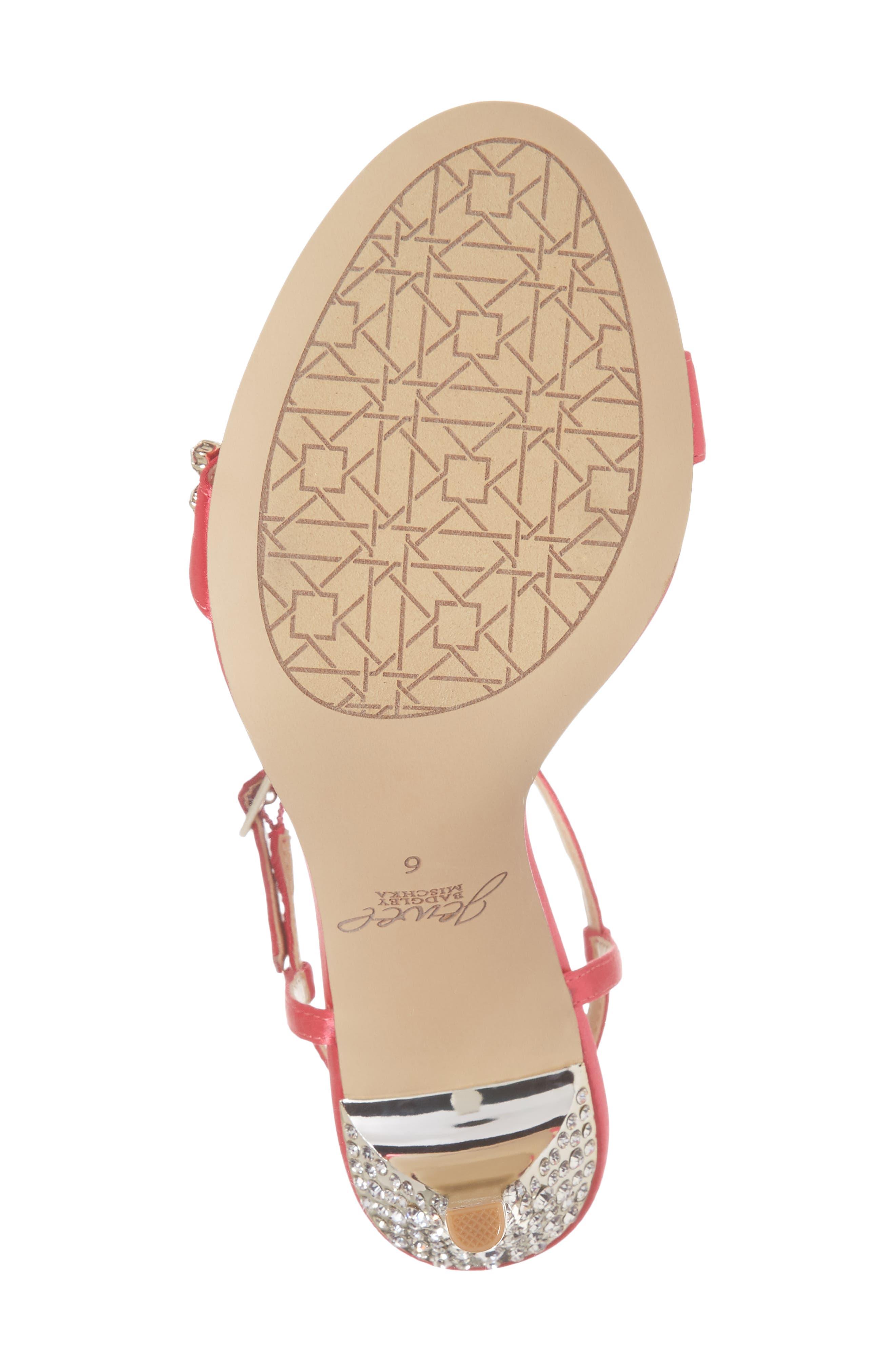 Alternate Image 6  - Jewel Badgley Mischka Tex Ankle Strap Sandal (Women)