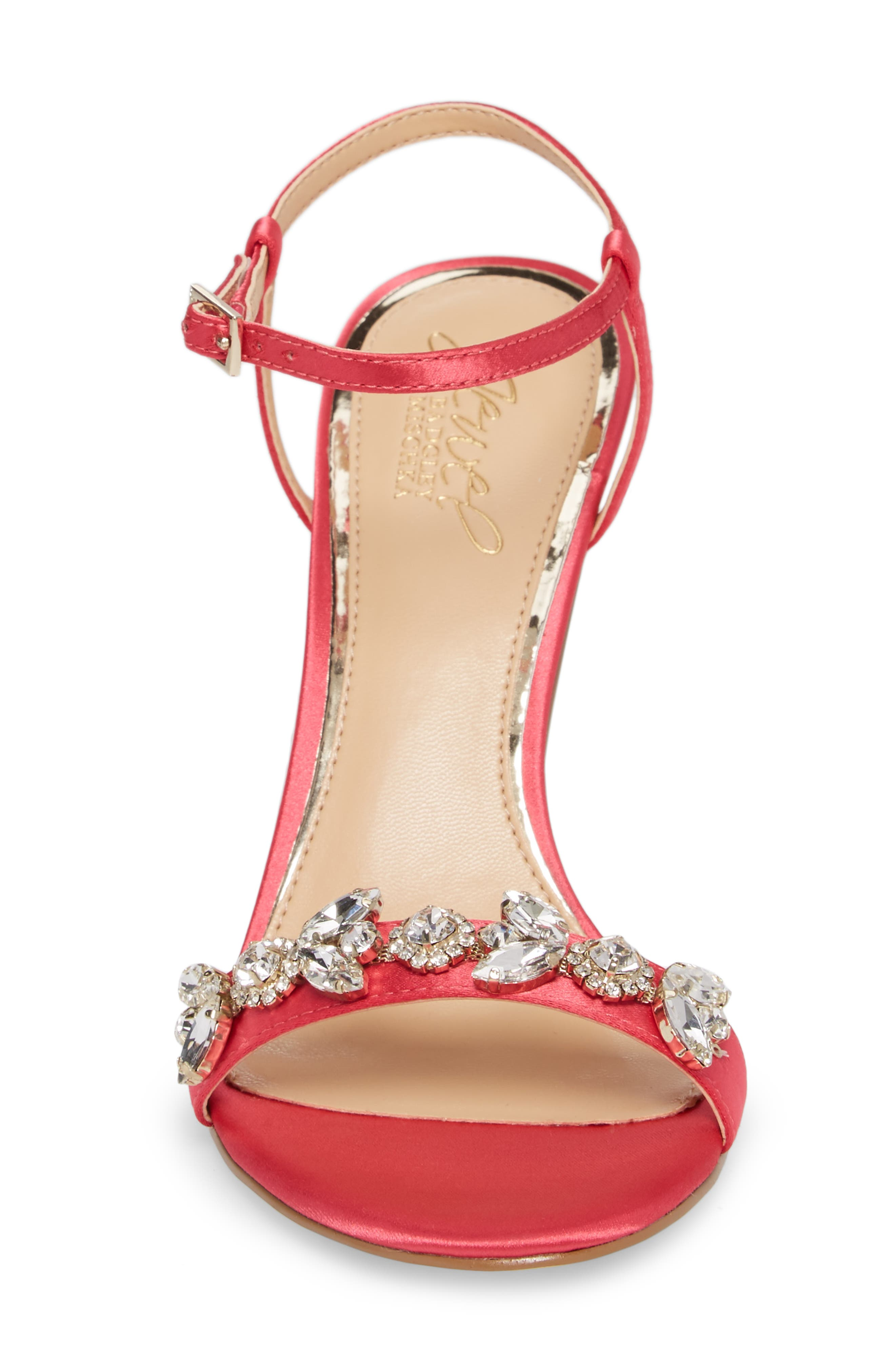 Alternate Image 4  - Jewel Badgley Mischka Tex Ankle Strap Sandal (Women)