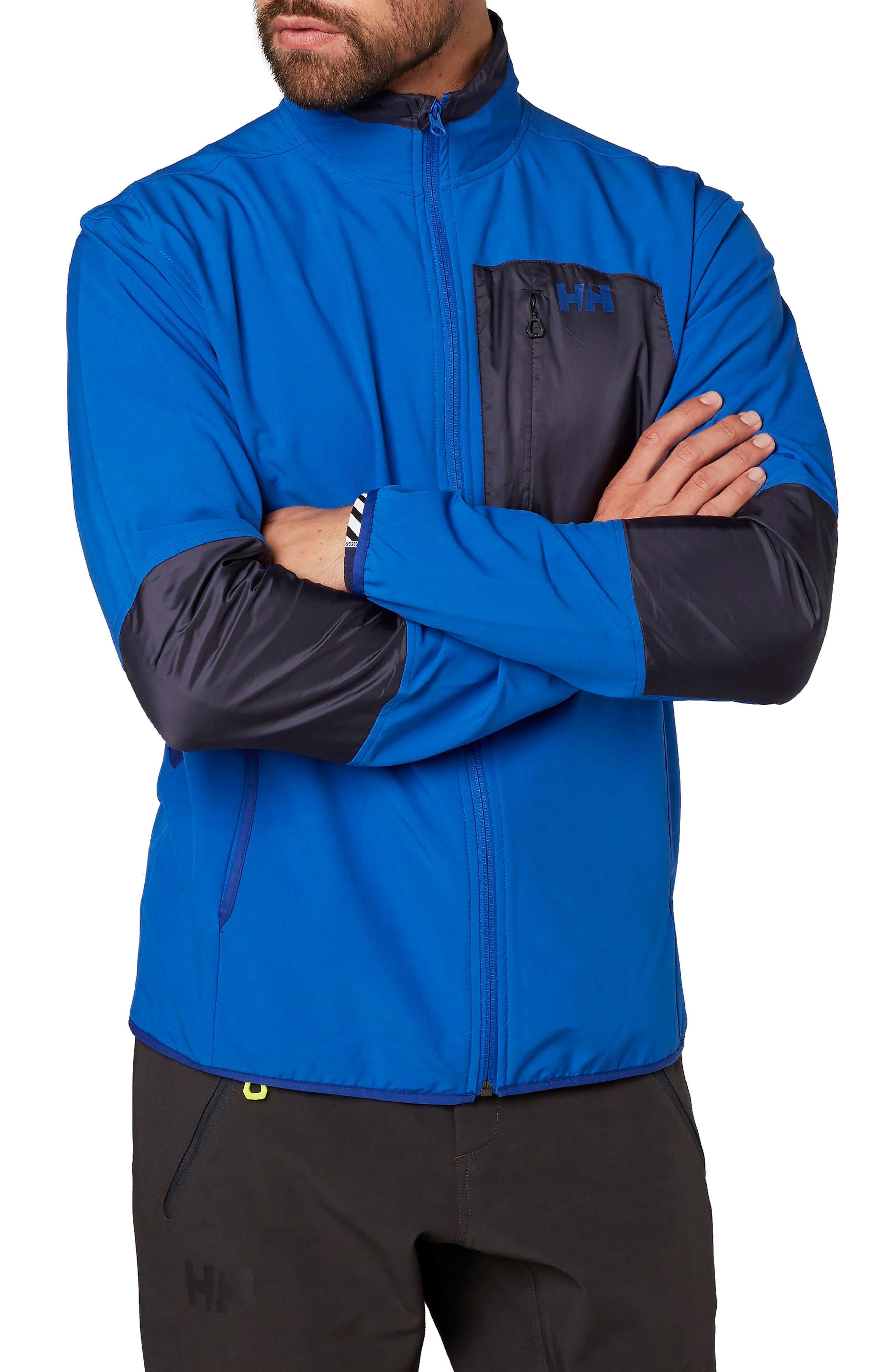 Wynn Rask Soft Shell Jacket,                         Main,                         color, Olympian Blue