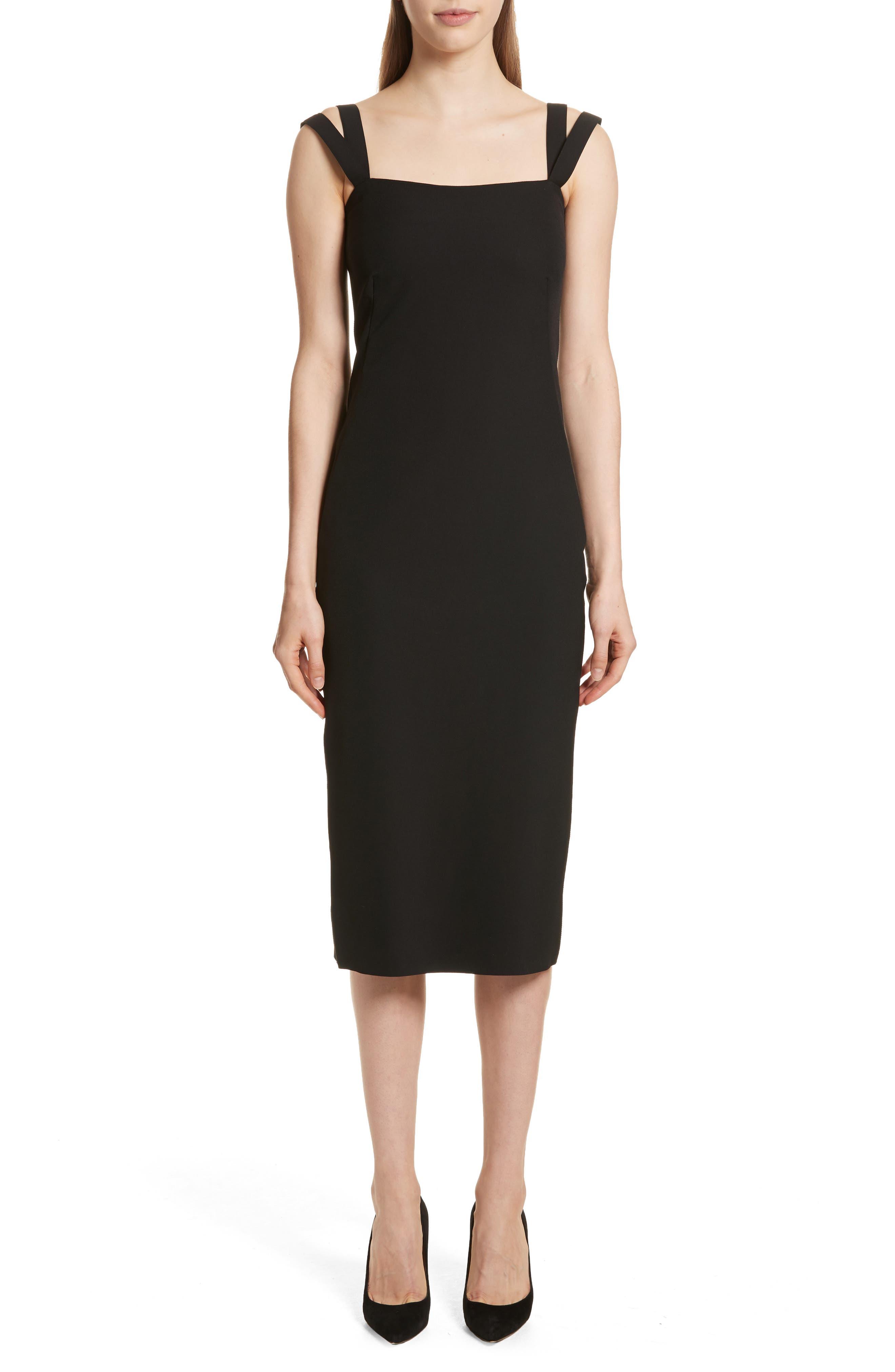 Perform Tech Perfect Sheath Dress,                         Main,                         color, Black
