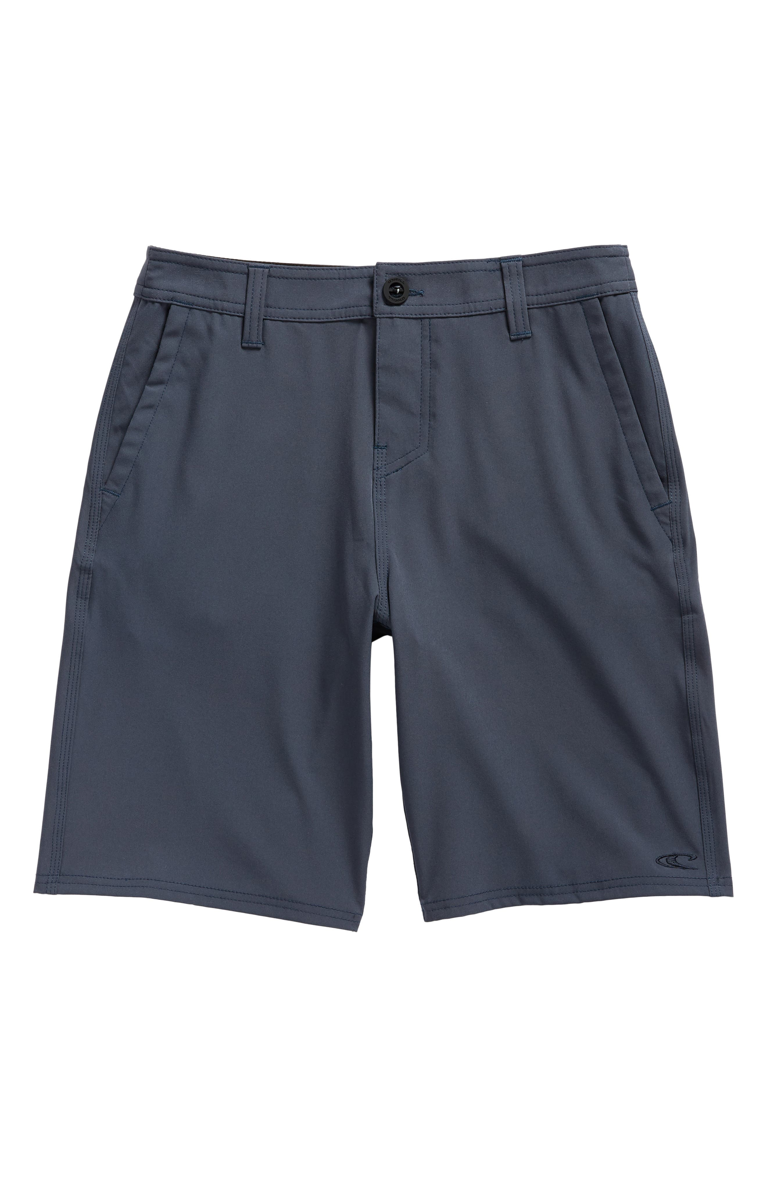 Loaded Hybrid Board Shorts,                         Main,                         color, Slate