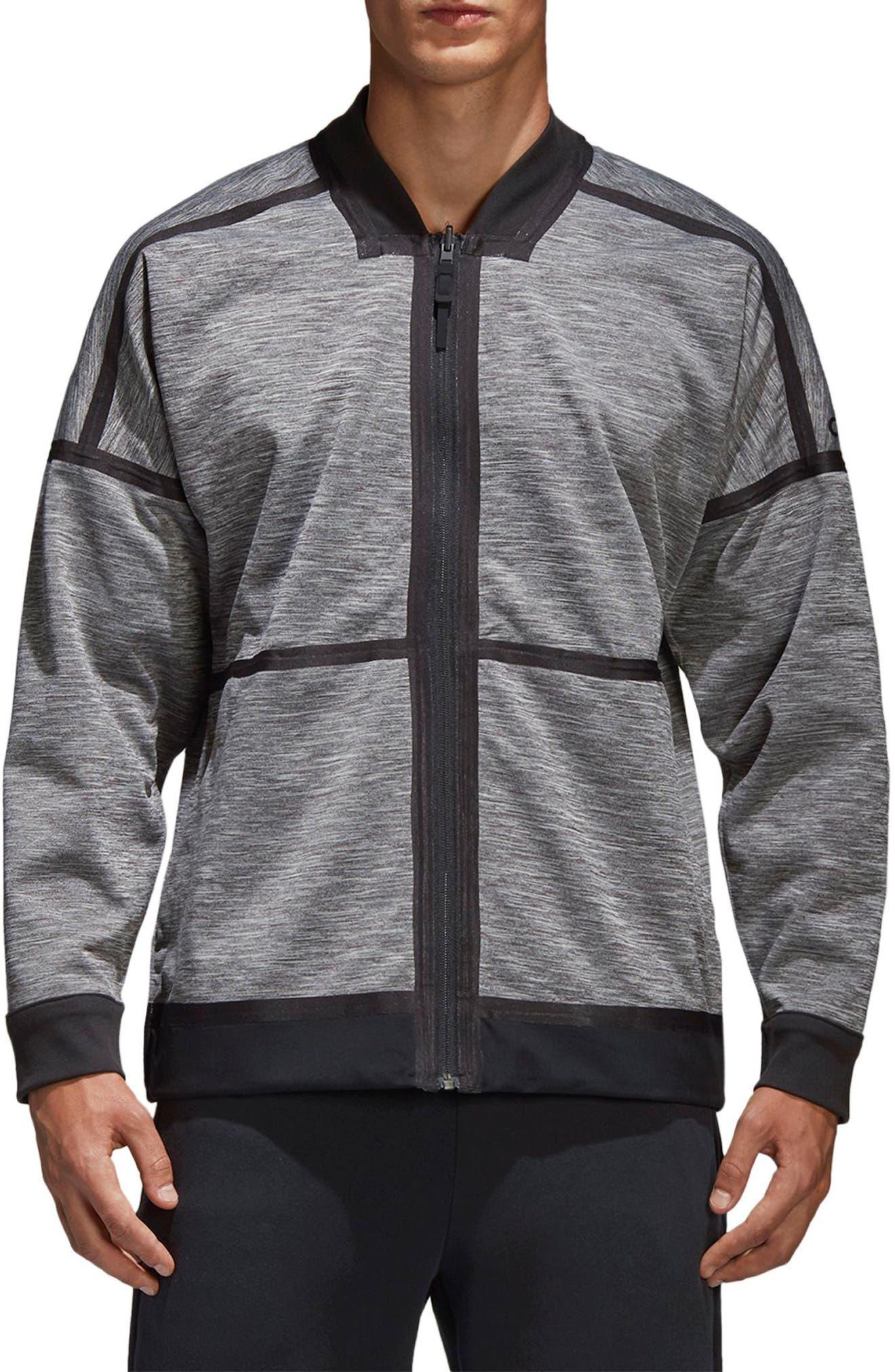 Z.N.E. Reversible Ventilated Jacket,                             Main thumbnail 1, color,                             Black / Storm Heather/ Mgh