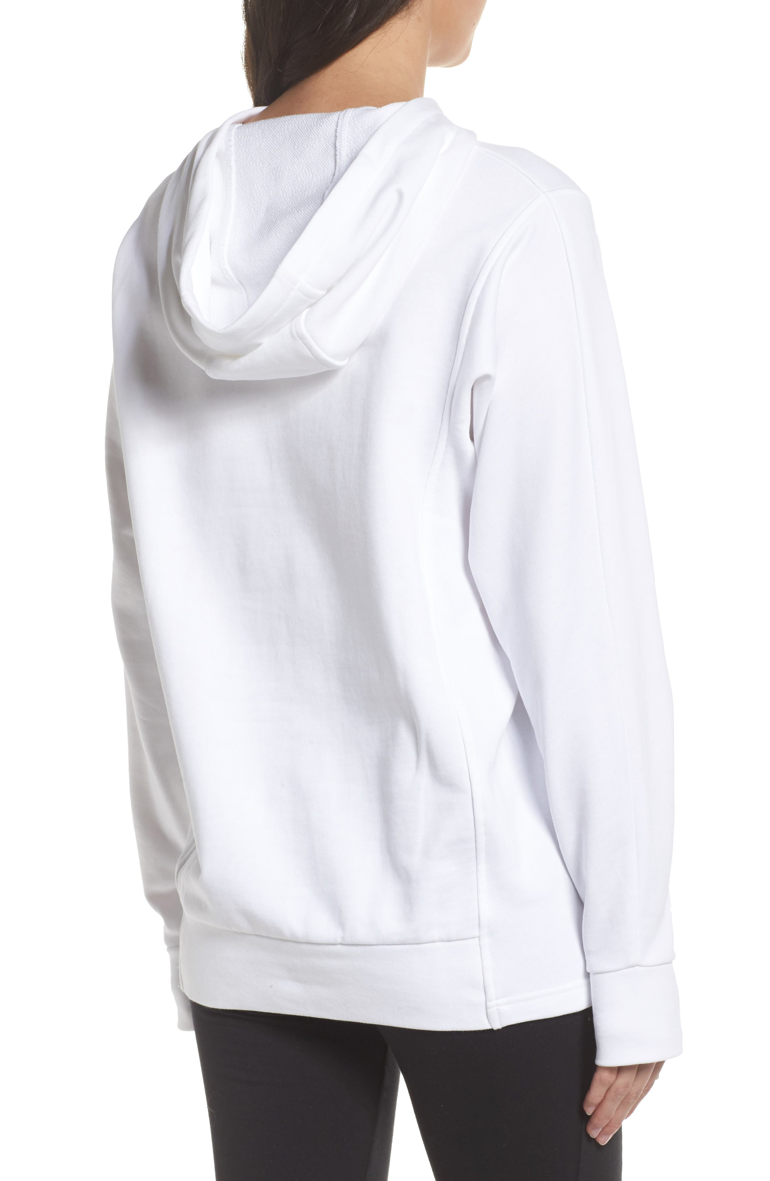 Alternate Image 2  - Reebok Foundation French Terry Hoodie