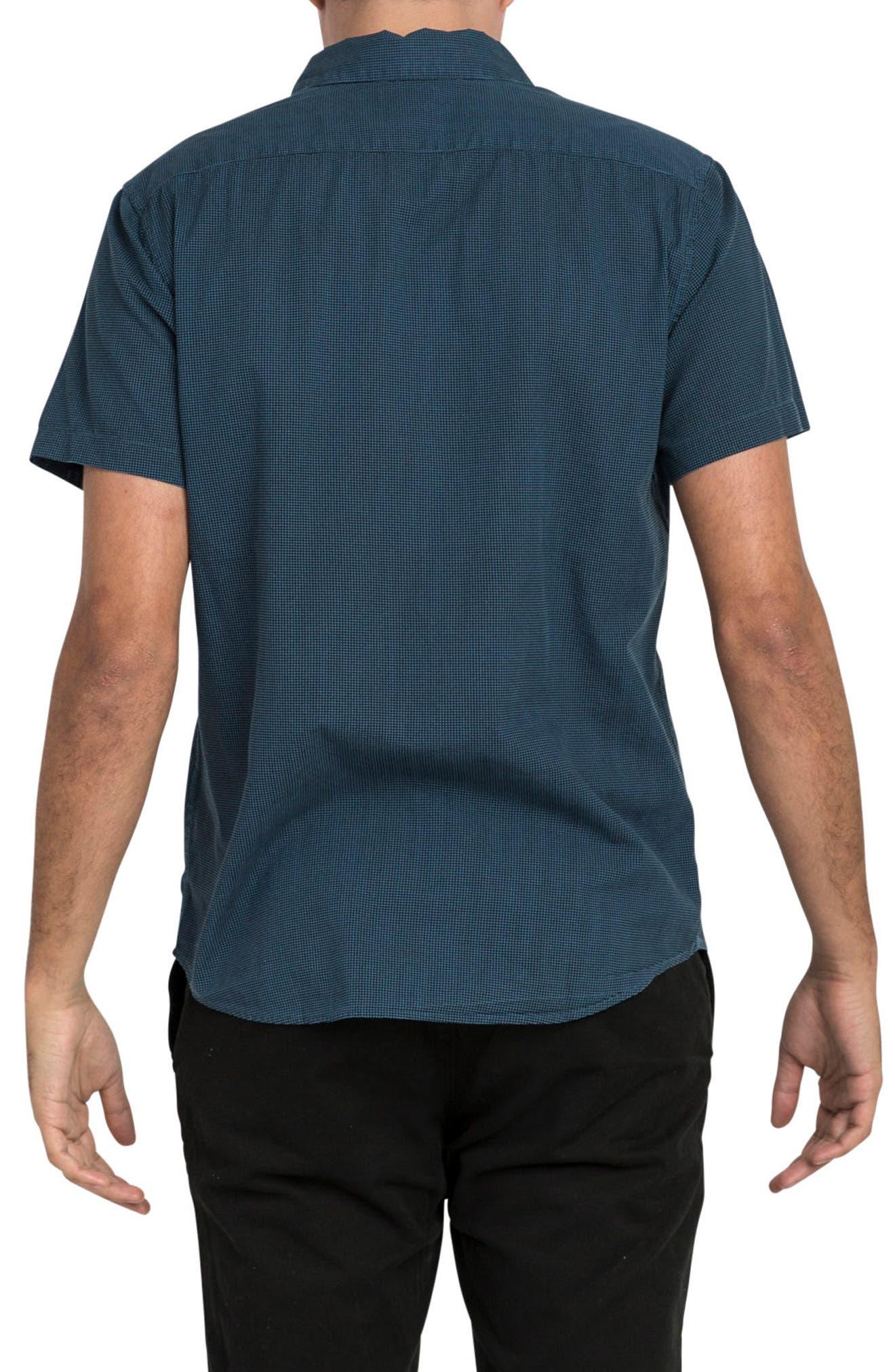 No Name Woven Shirt,                             Alternate thumbnail 2, color,                             Dark Denim