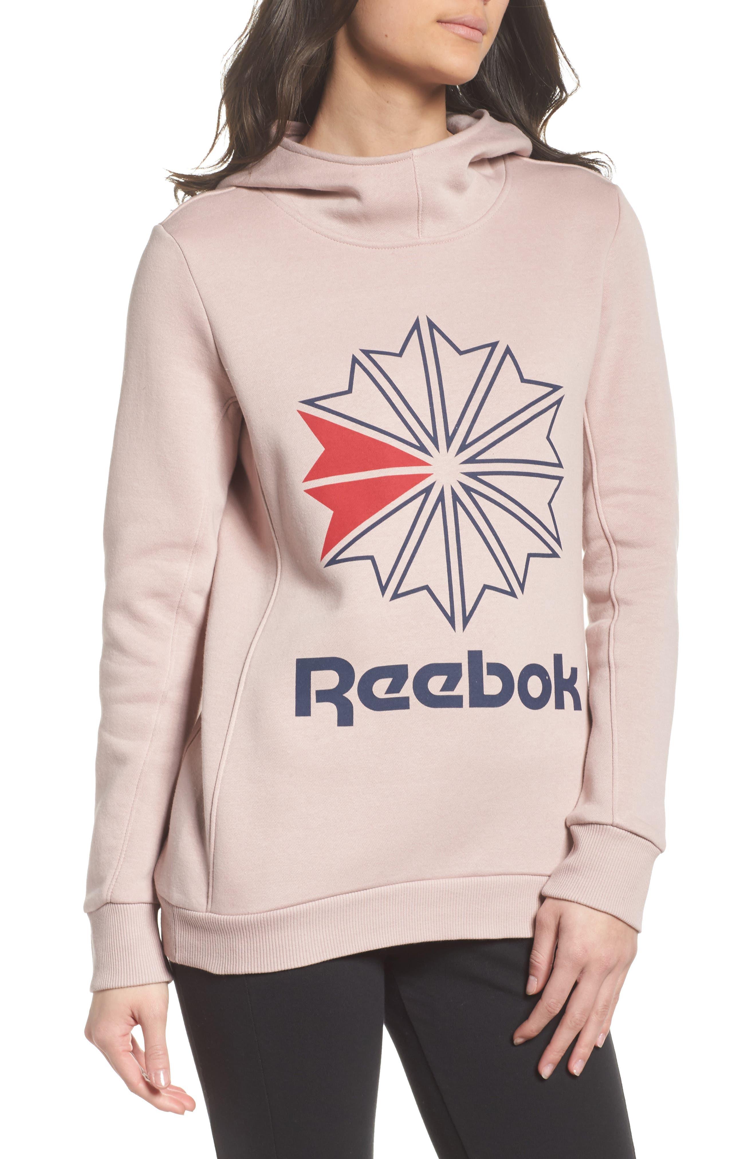 Alternate Image 1 Selected - Reebok Starcrest Fleece Hoodie