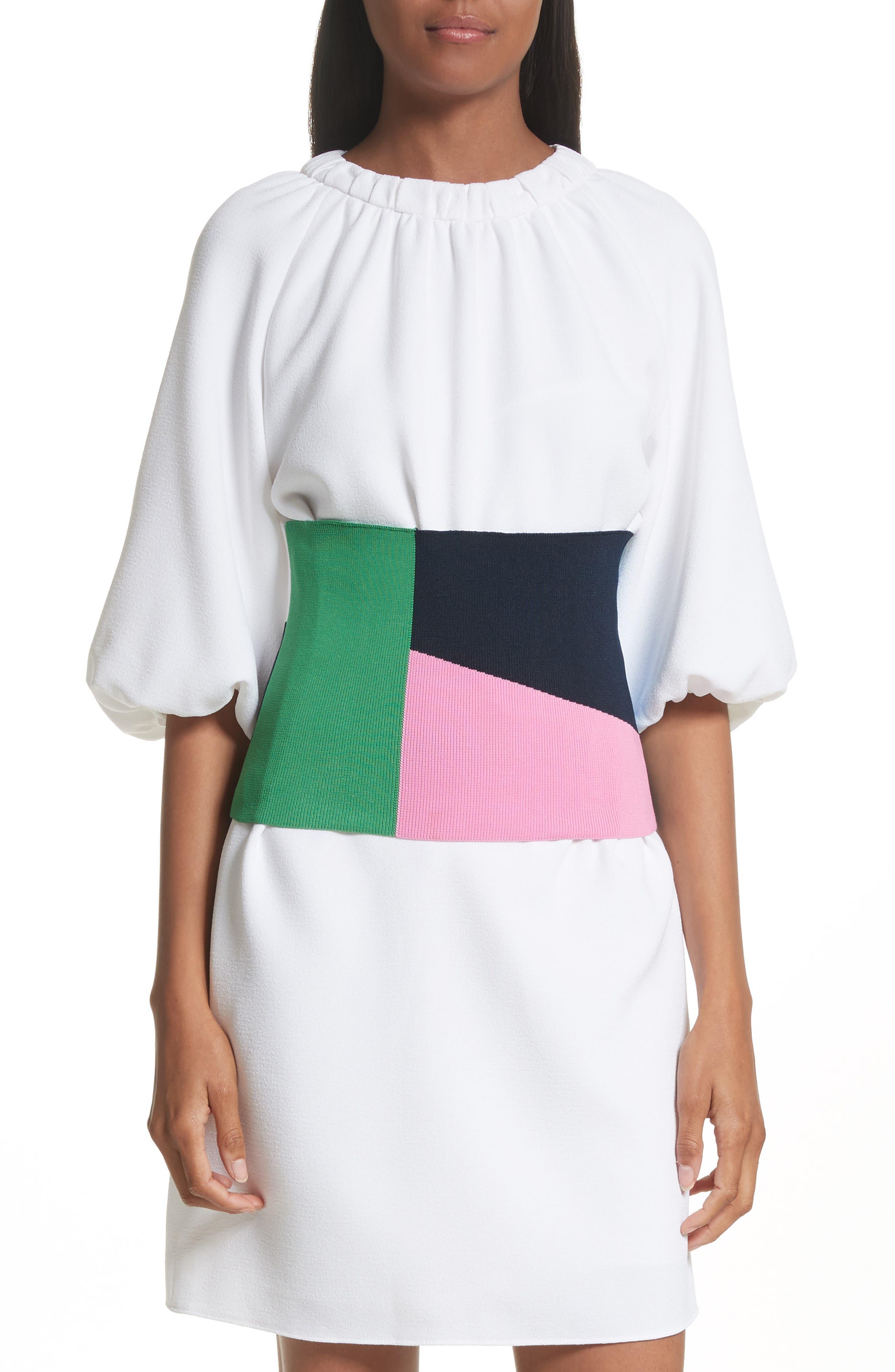 Tibi Multicolor Knit Corset