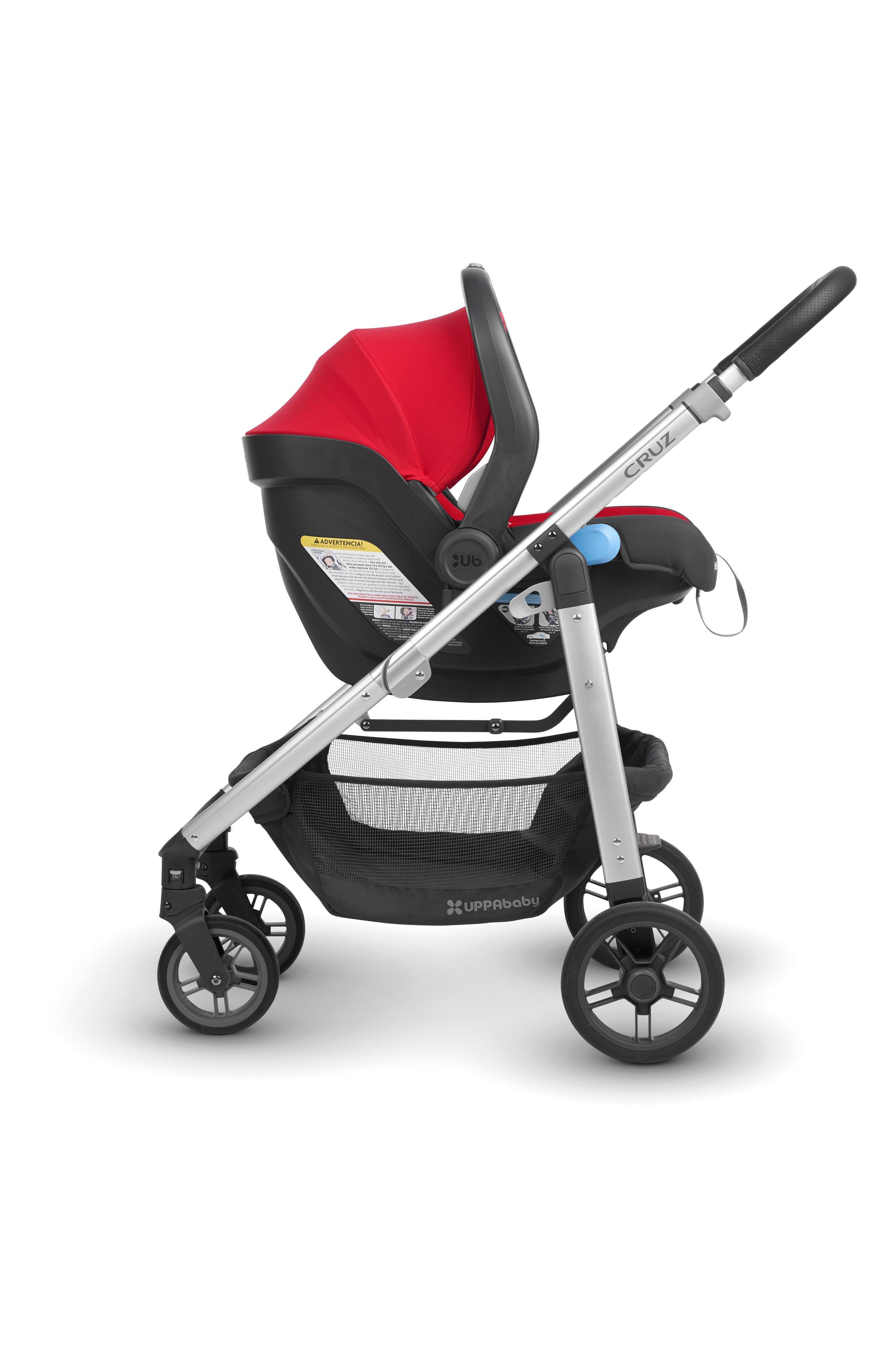 2018 MESA Infant Car Seat,                             Alternate thumbnail 3, color,                             Denny Red