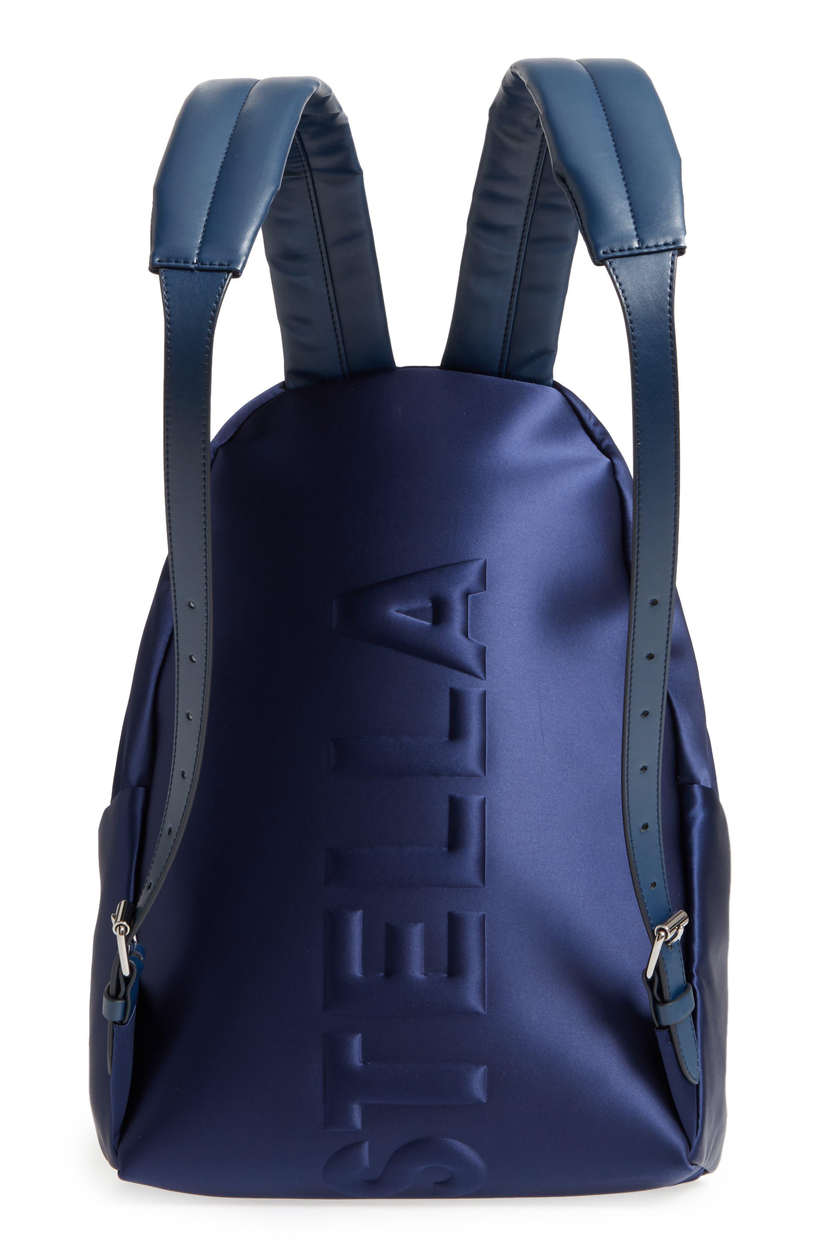 Alternate Image 3  - Stella McCartney Logo Embossed Satin Backpack