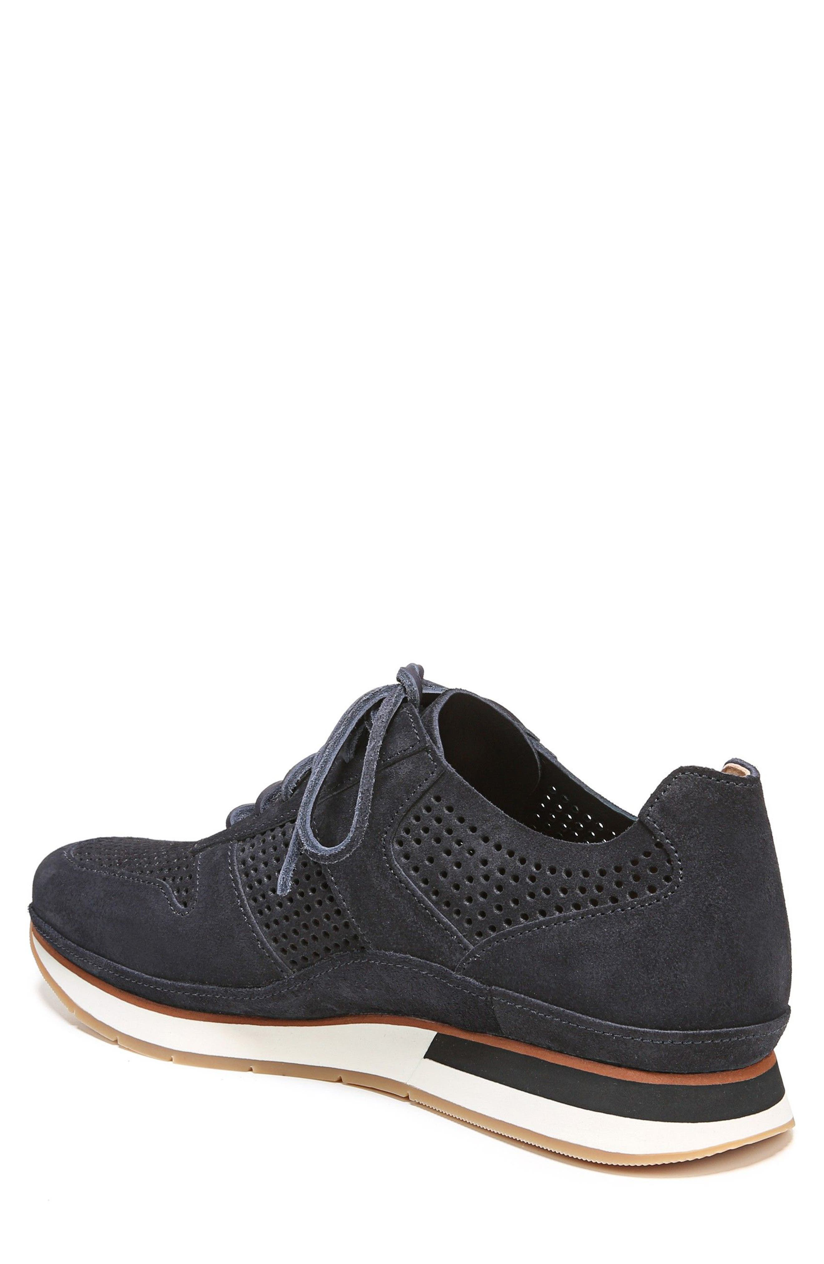 Larson Perforated Sneaker,                             Alternate thumbnail 2, color,                             Coastal