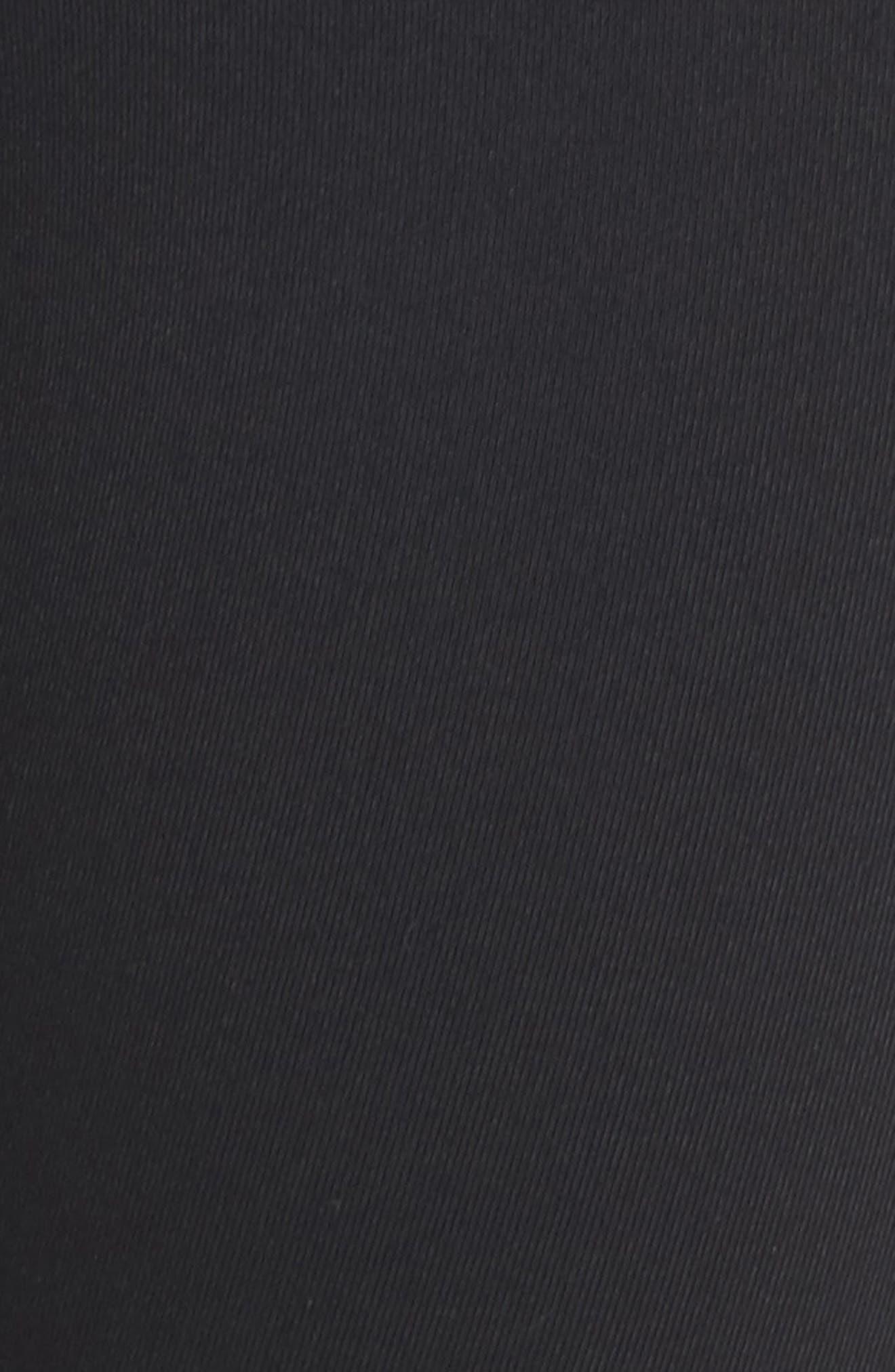 Sculpt Lux High Waist Training Capris,                             Alternate thumbnail 6, color,                             Black/ Clear