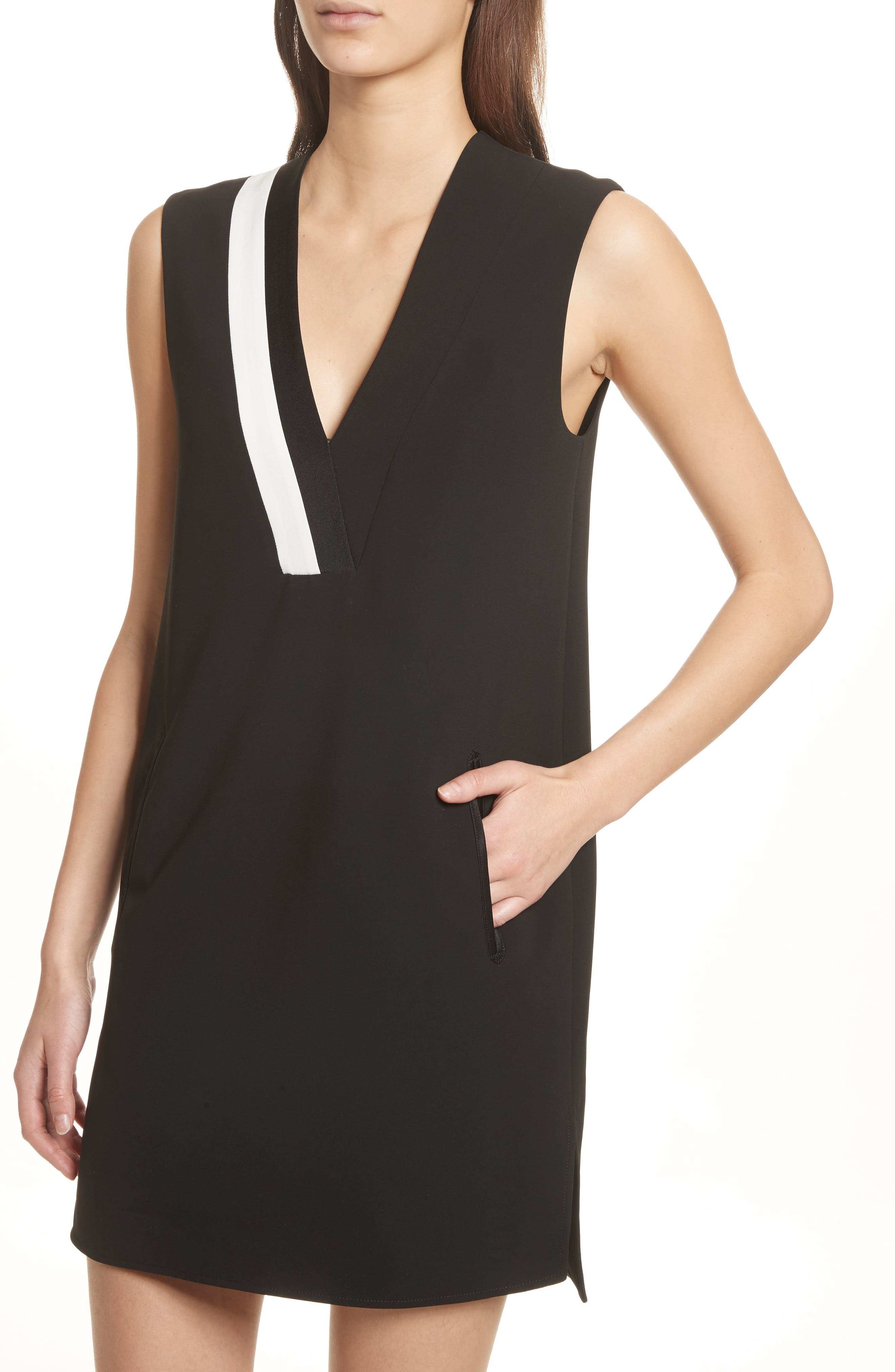 Lodwick Dress,                             Alternate thumbnail 4, color,                             Black
