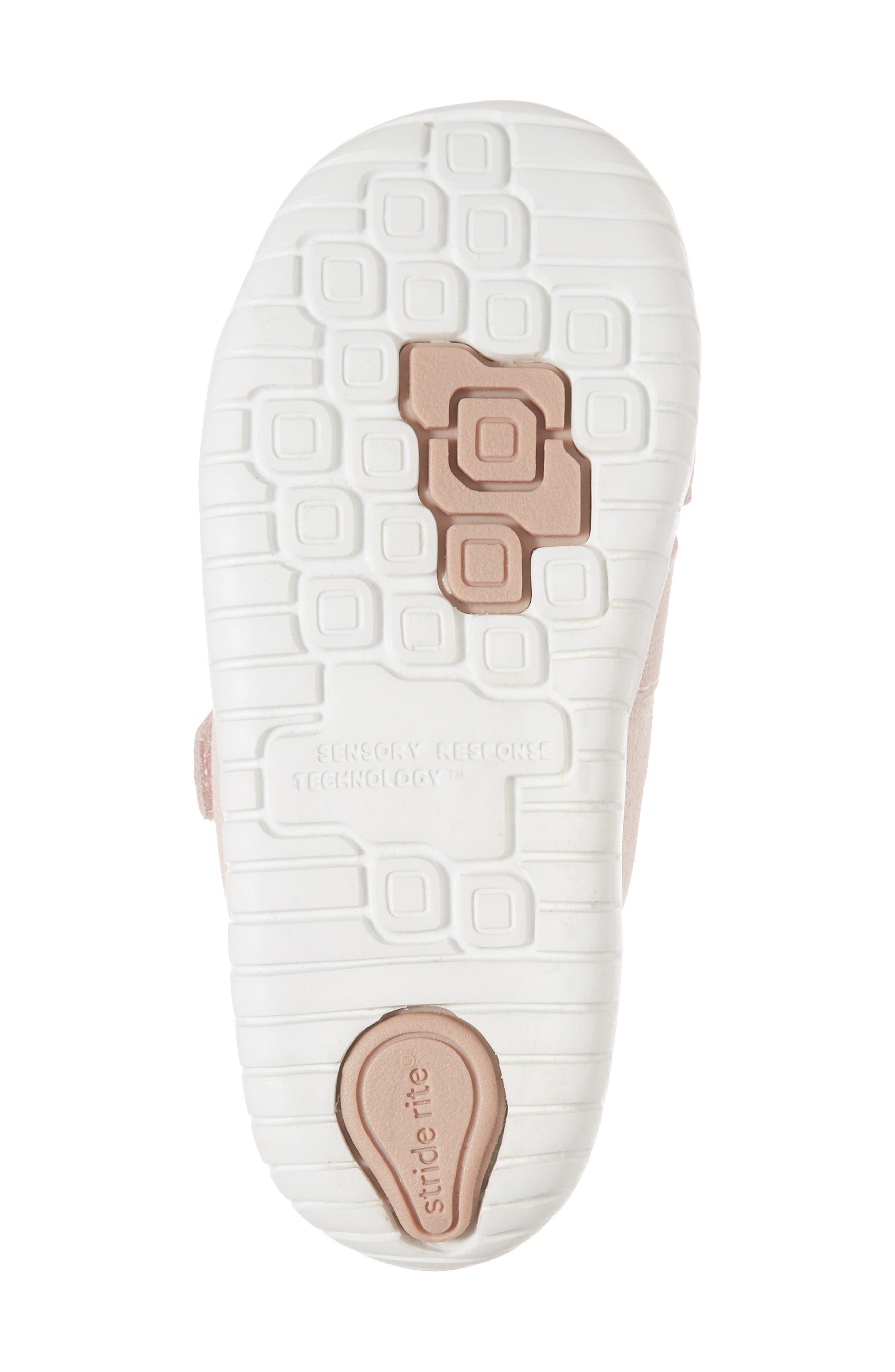 SRtech<sup>™</sup> Riley Sneaker,                             Alternate thumbnail 6, color,                             Blush Leather