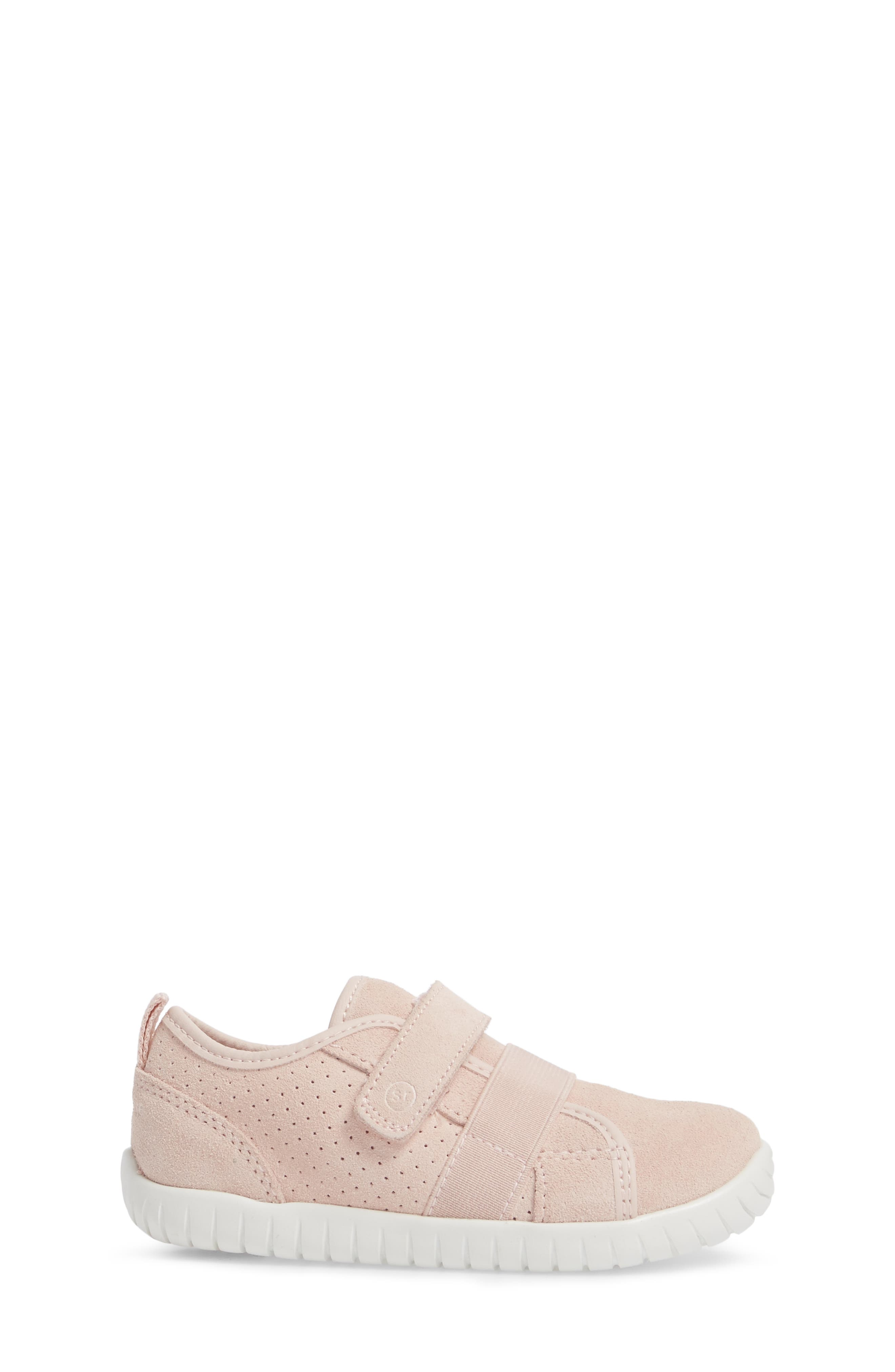 SRtech<sup>™</sup> Riley Sneaker,                             Alternate thumbnail 3, color,                             Blush Leather