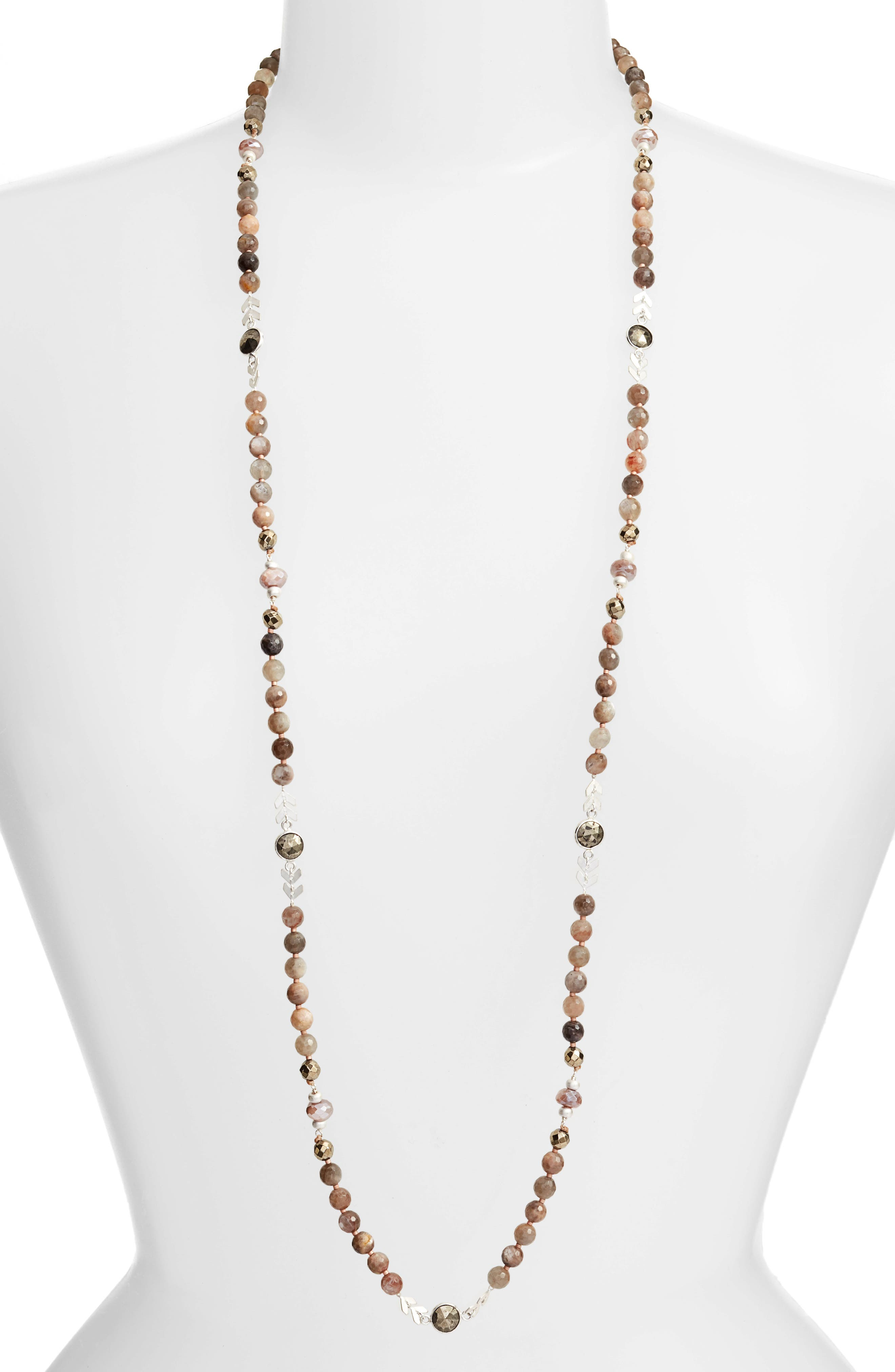 Alternate Image 1 Selected - Chan Luu Long Layering Necklace