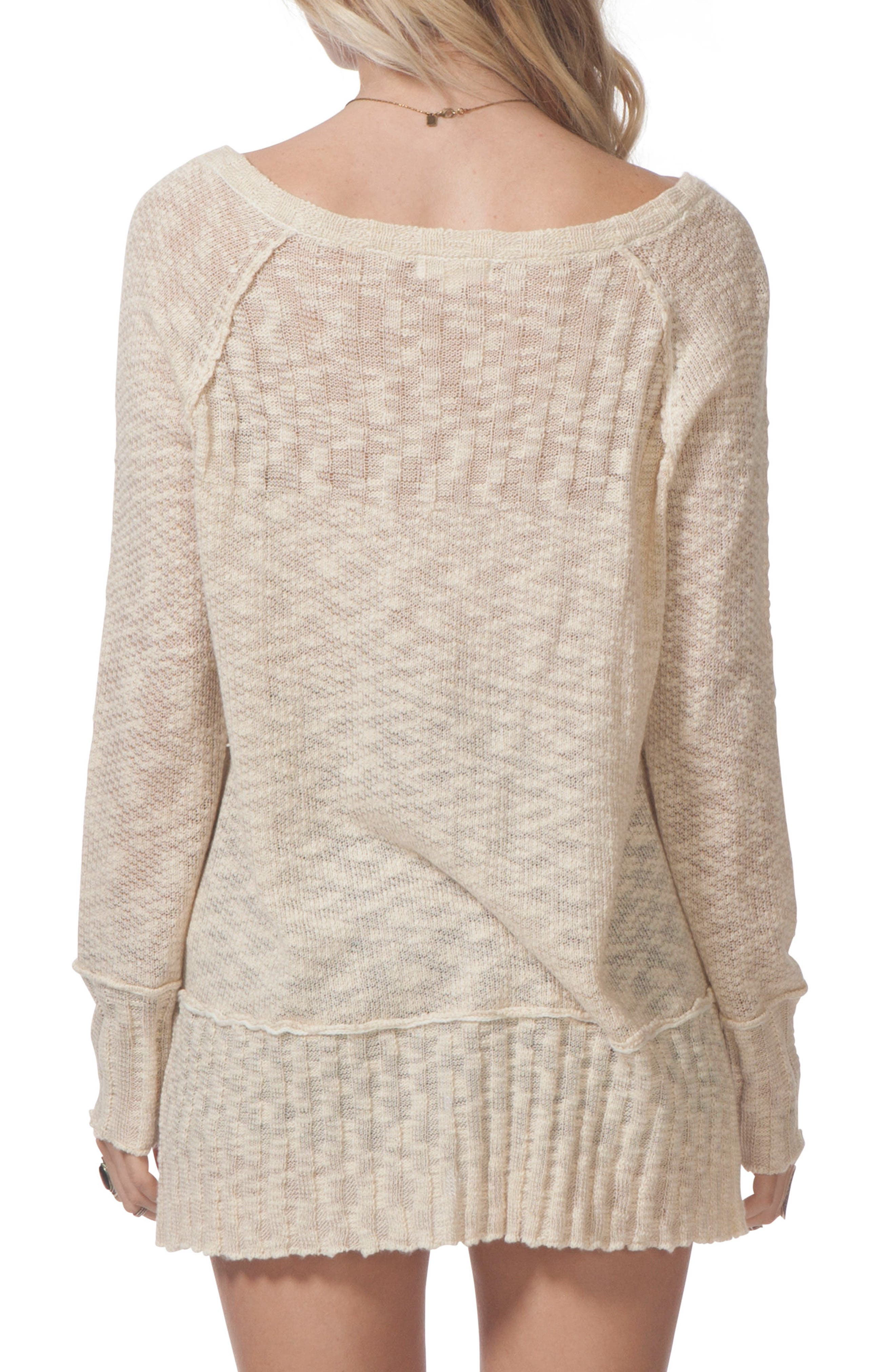 Reflection Sweater,                             Alternate thumbnail 2, color,                             Vanilla