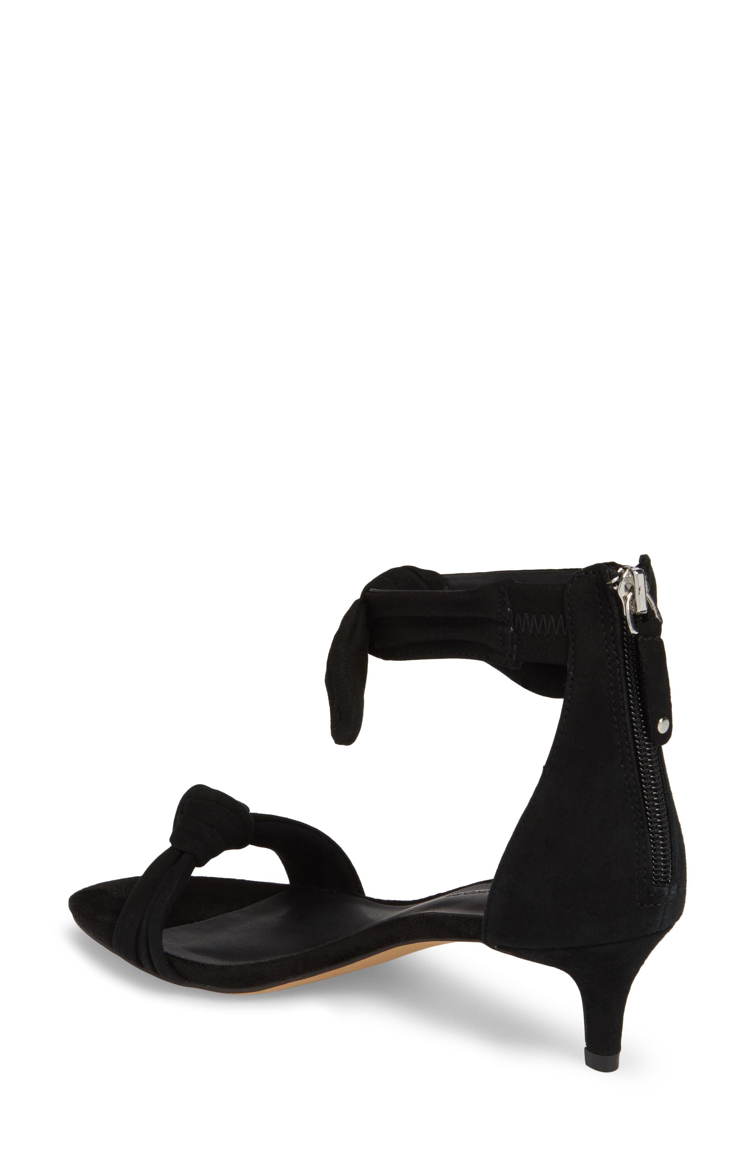 Alternate Image 2  - Rebecca Minkoff Kaley Knotted Kitten Heel Sandal (Women)