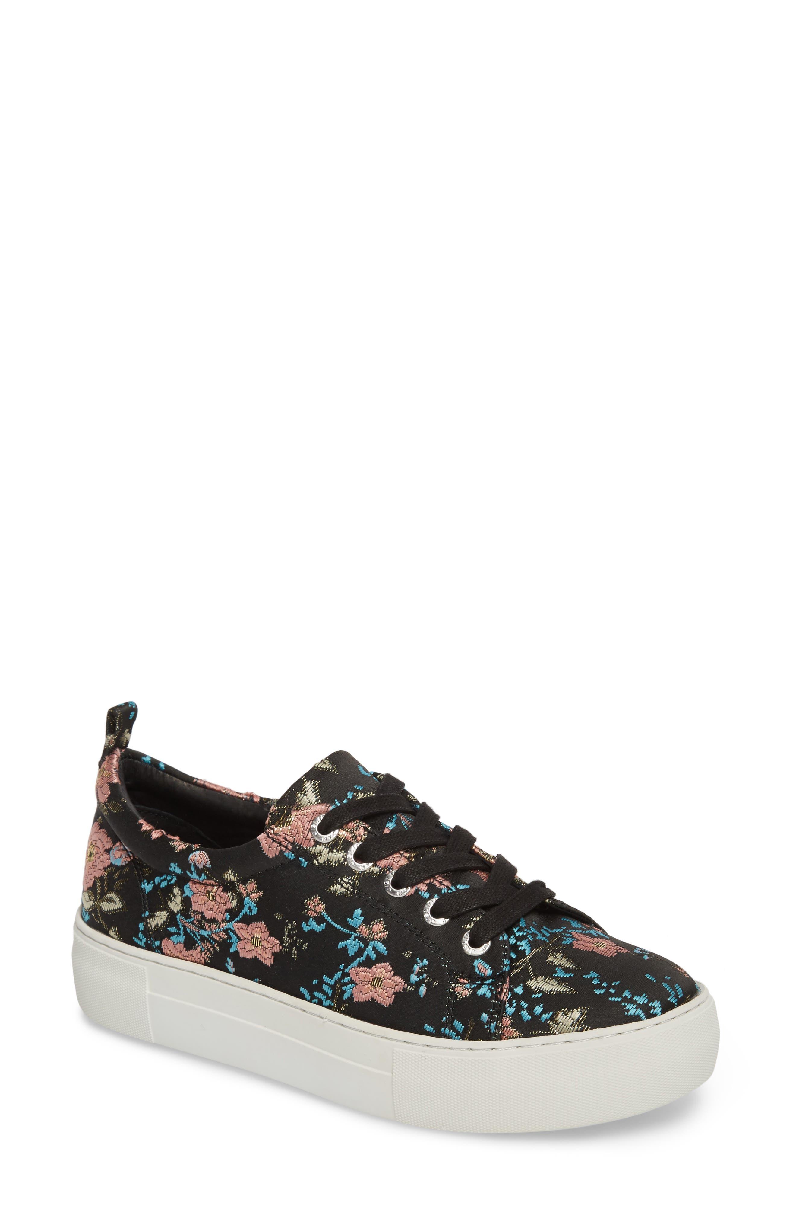 Alternate Image 1 Selected - JSlides Assure Embroidered Platform Sneaker (Women)