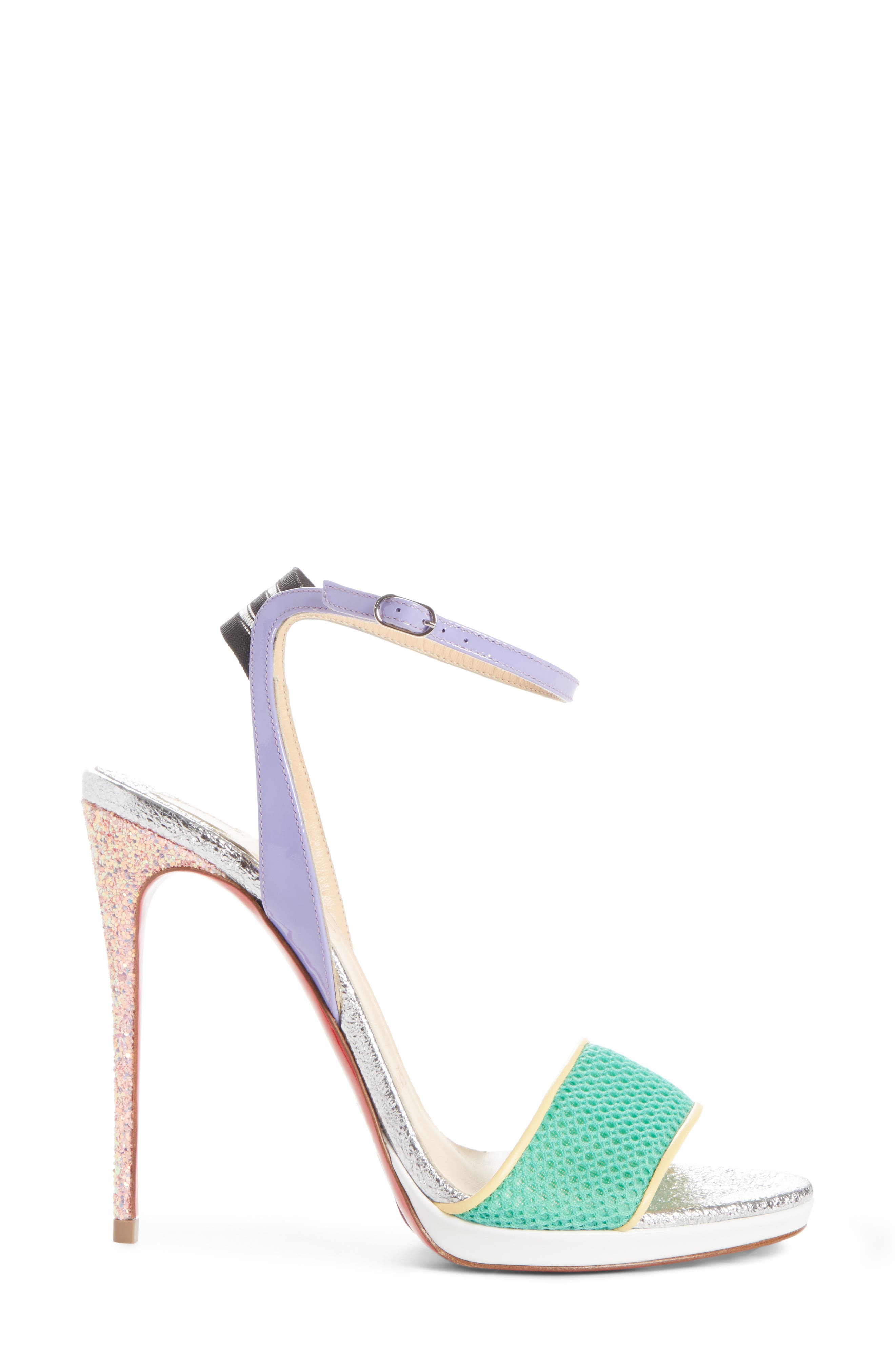 Alternate Image 3  - Christian Louboutin Discoport Textured Sandal (Women)