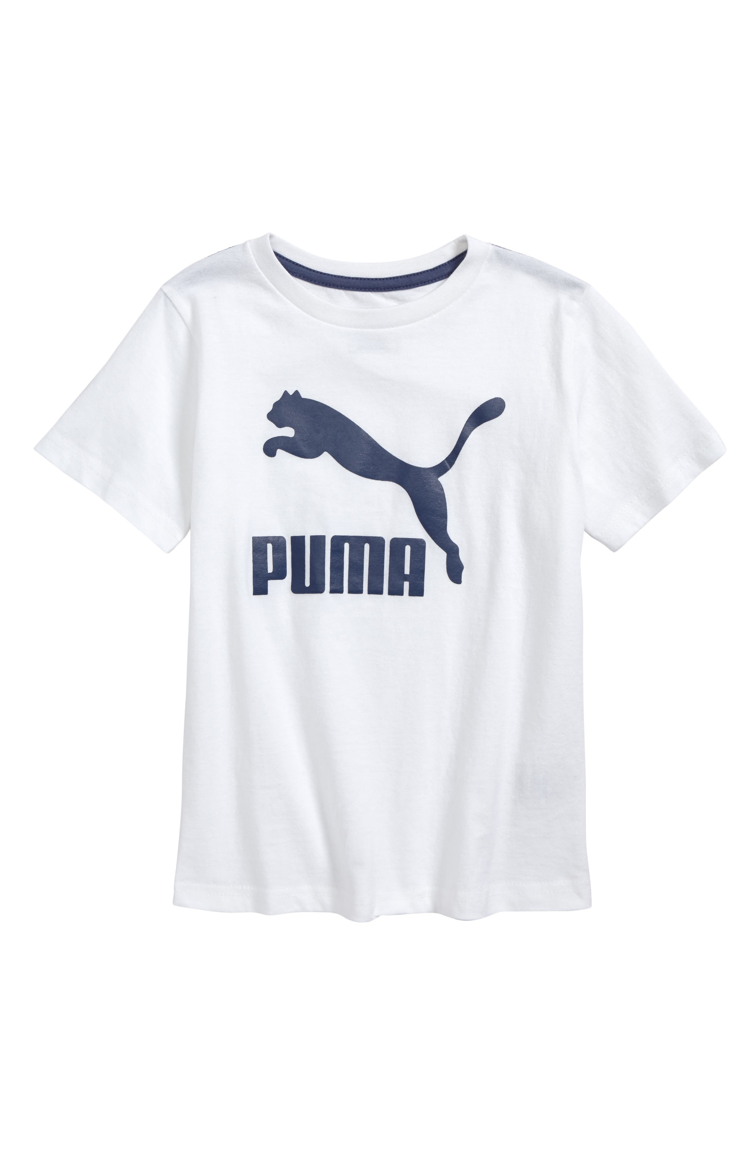 PUMA Logo Graphic T-Shirt (Little Boy)