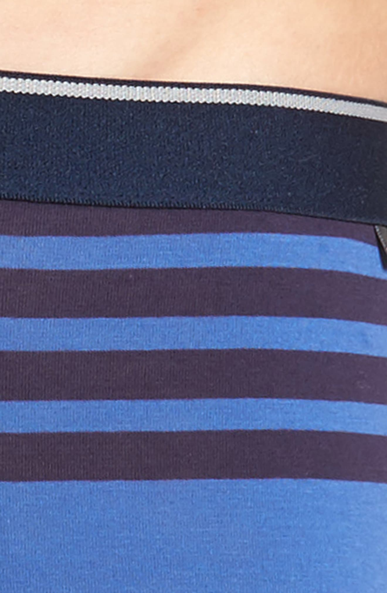 3-Pack Boxer Briefs,                             Alternate thumbnail 5, color,                             Navy/ Navy-Blue Stripe