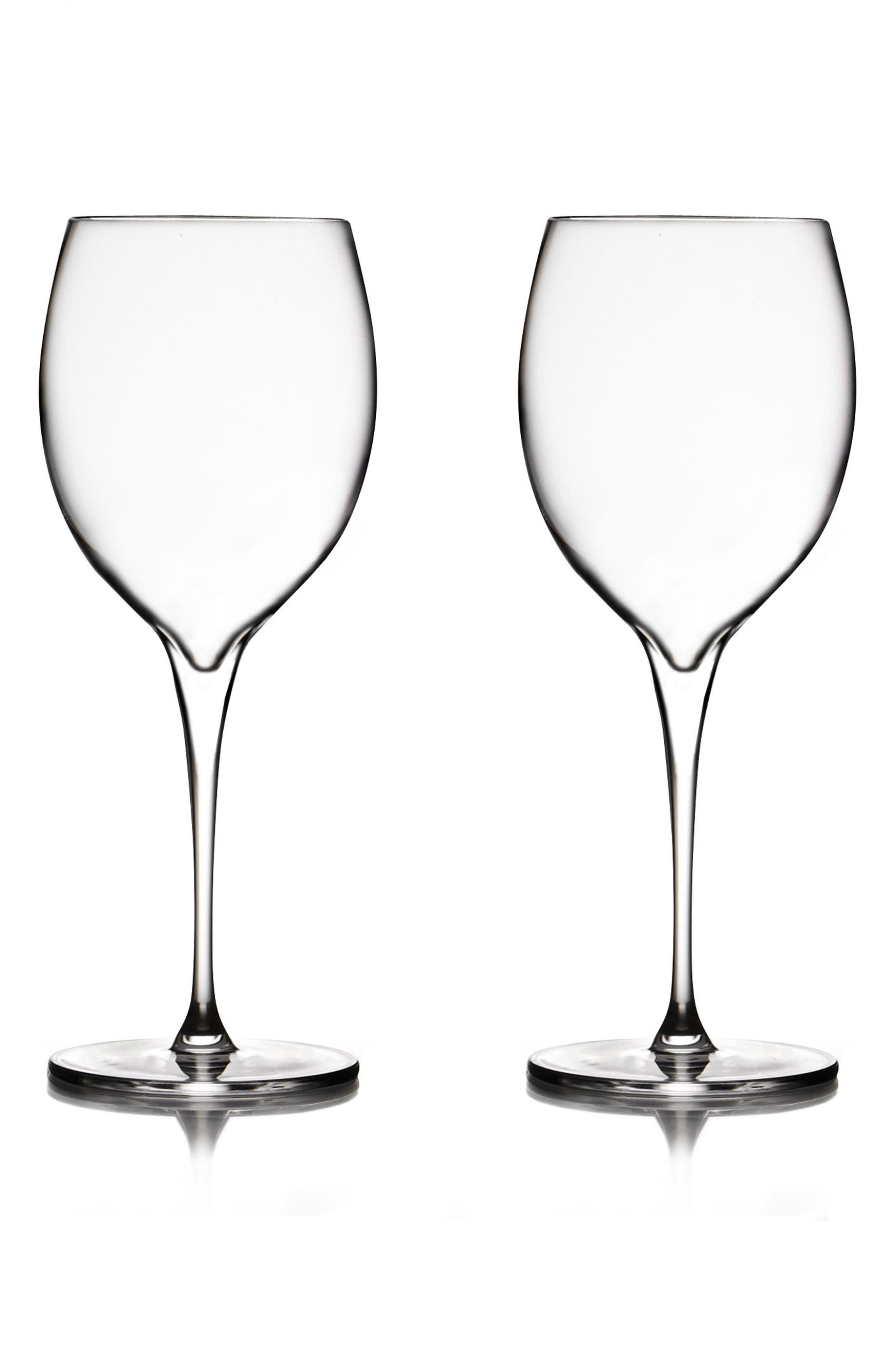 Main Image - Nambé Vie Set of 2 Chardonnay Glasses