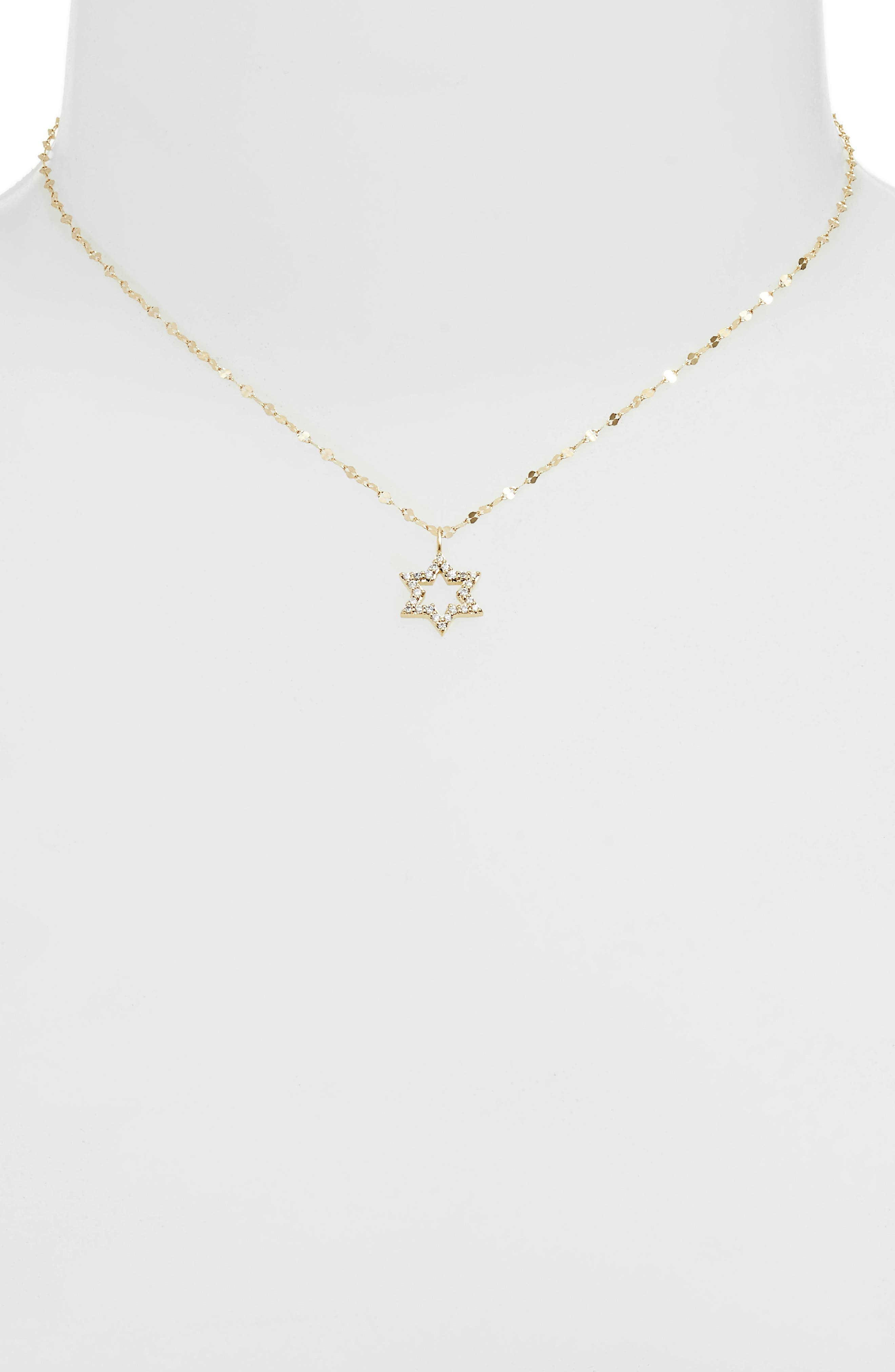Alternate Image 2  - Lana Girl by Lana Jewelry Diamond Star Pendant Necklace