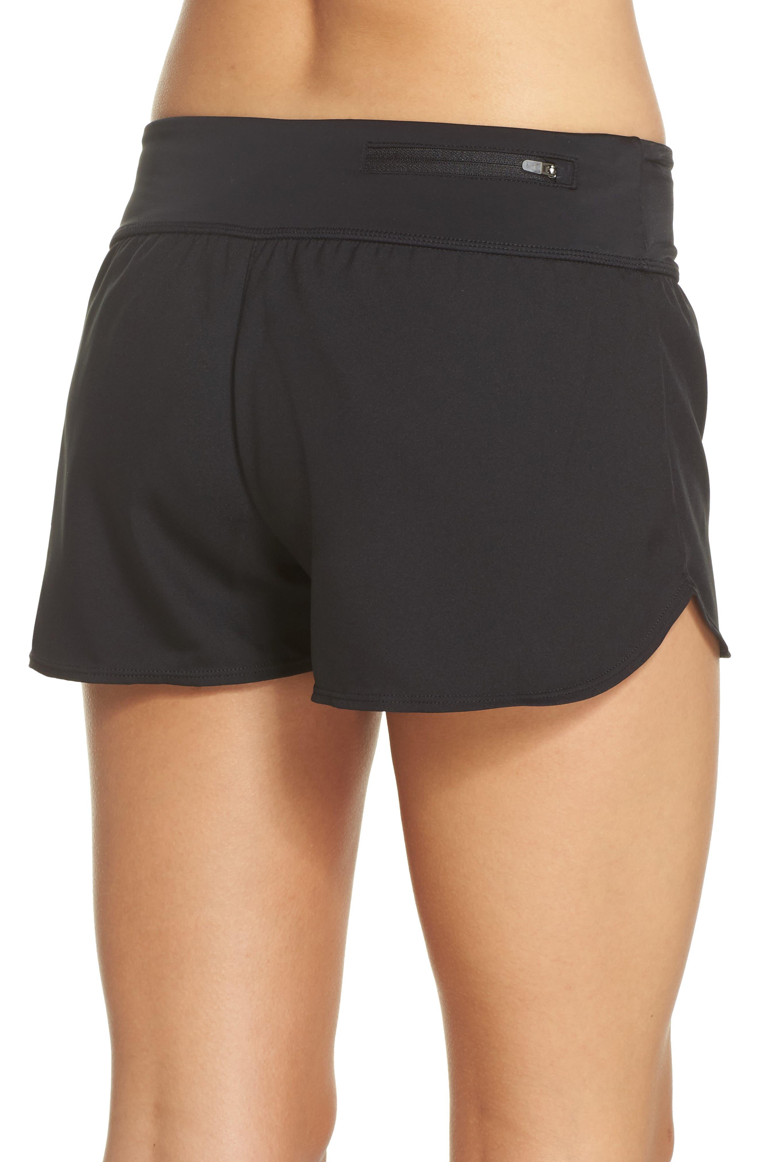 Swim Board Shorts,                             Alternate thumbnail 2, color,                             Black