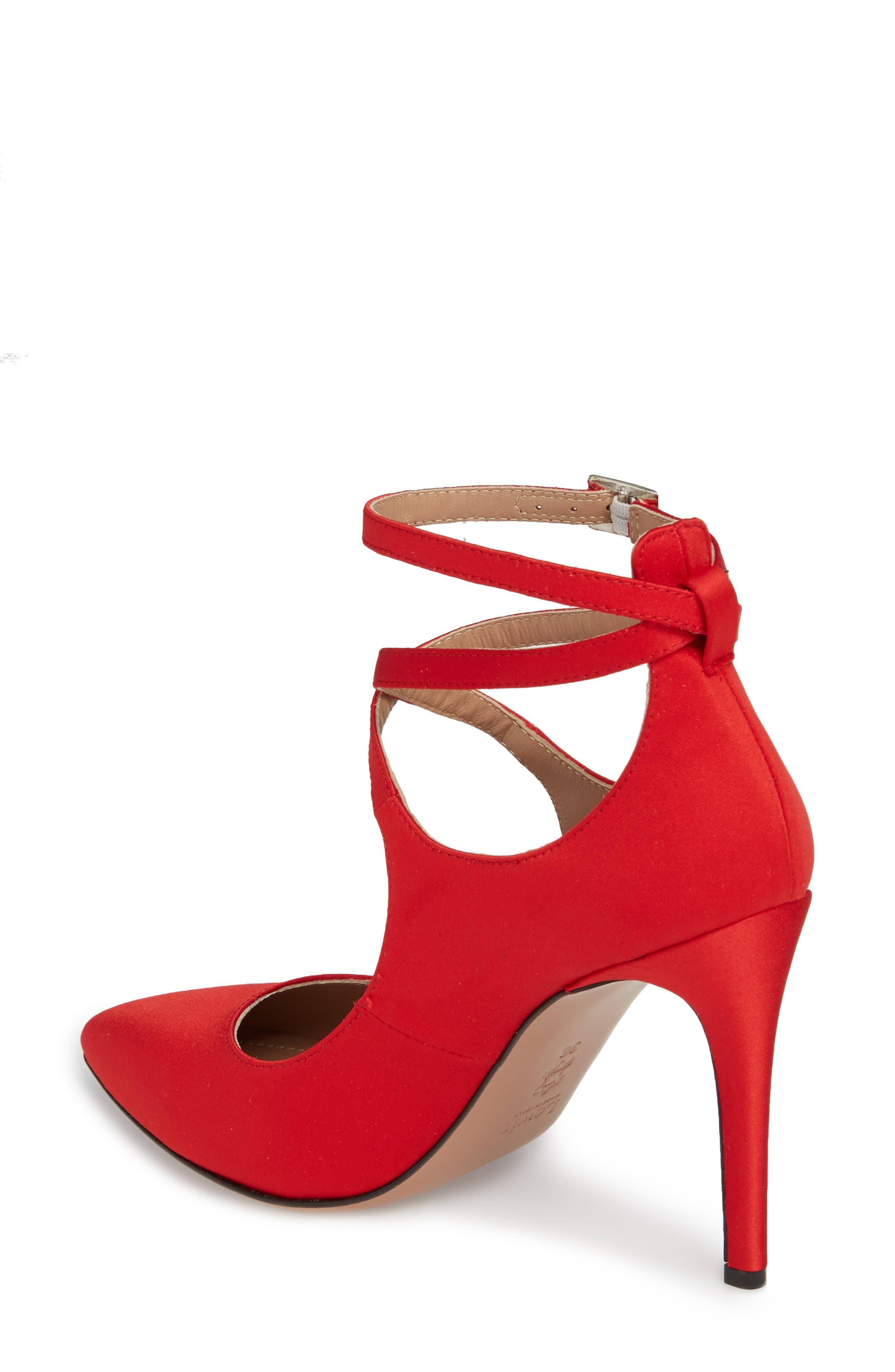Alternate Image 2  - Lewit Carita Ankle Wrap Pump (Women)