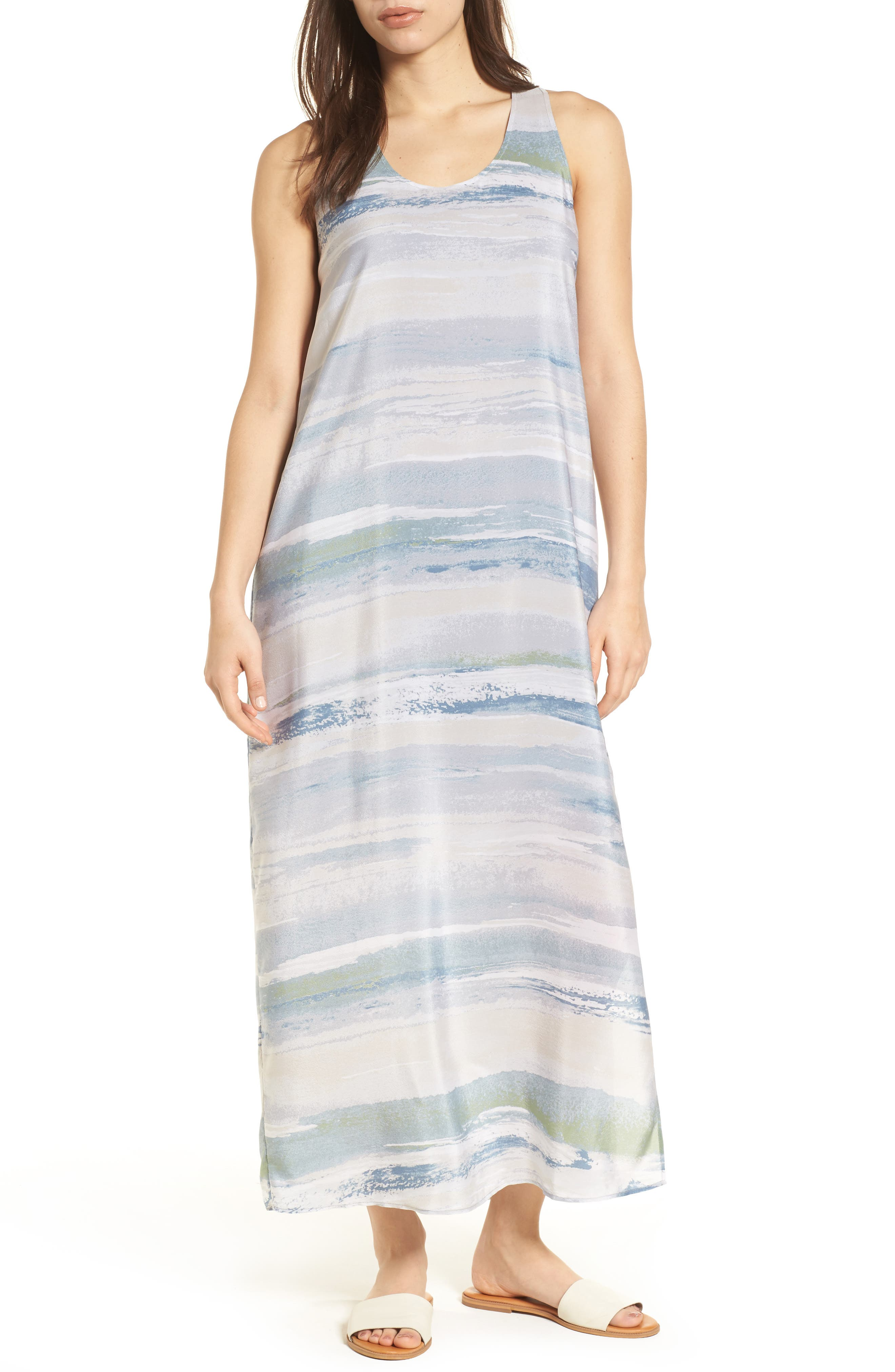NIC+ZOE Watercolor Maxi Dress