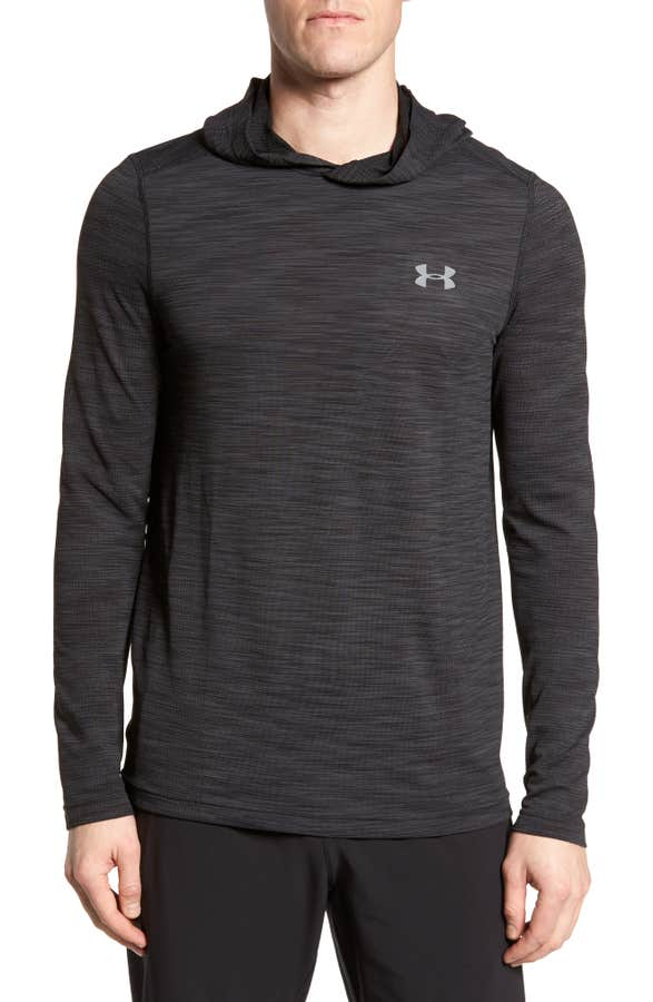 Fitted Seamless Hoodie