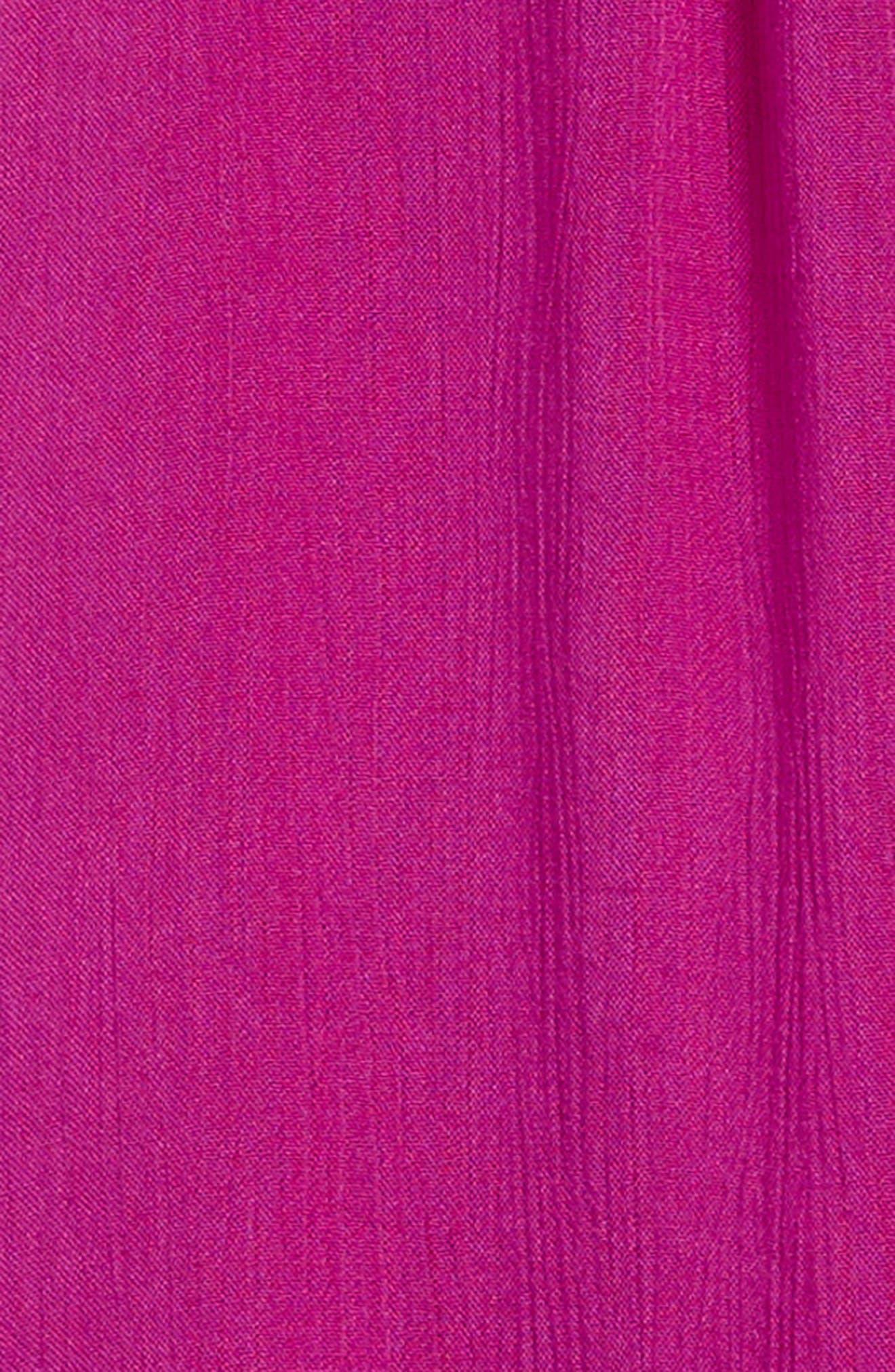 Avery Woven Dress,                             Alternate thumbnail 3, color,                             Boysenberry