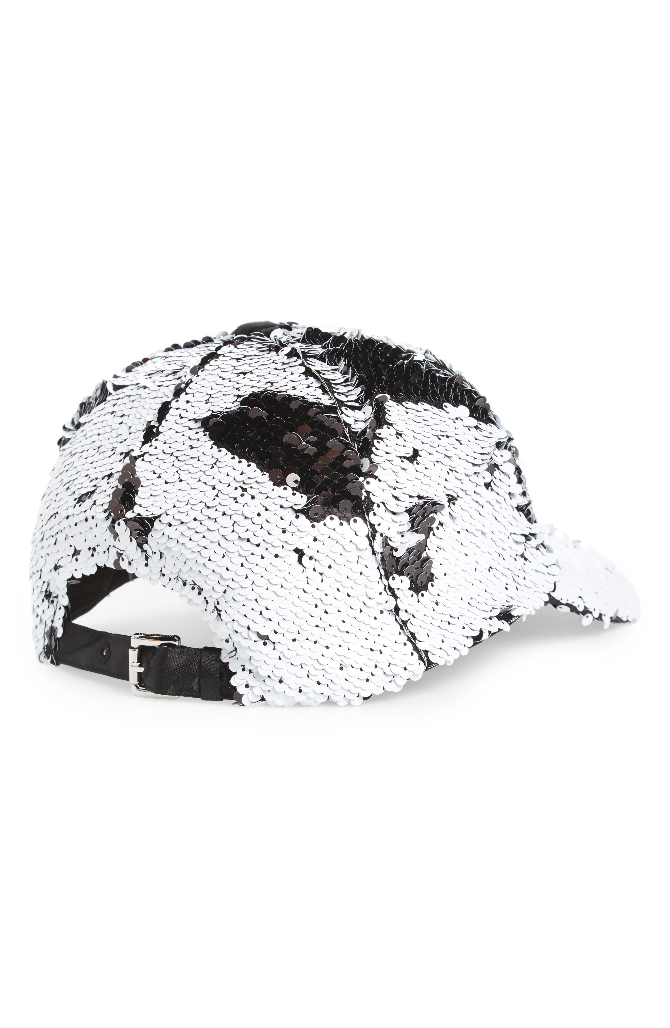Alternate Image 2  - Steve Madden Sequin Baseball Cap