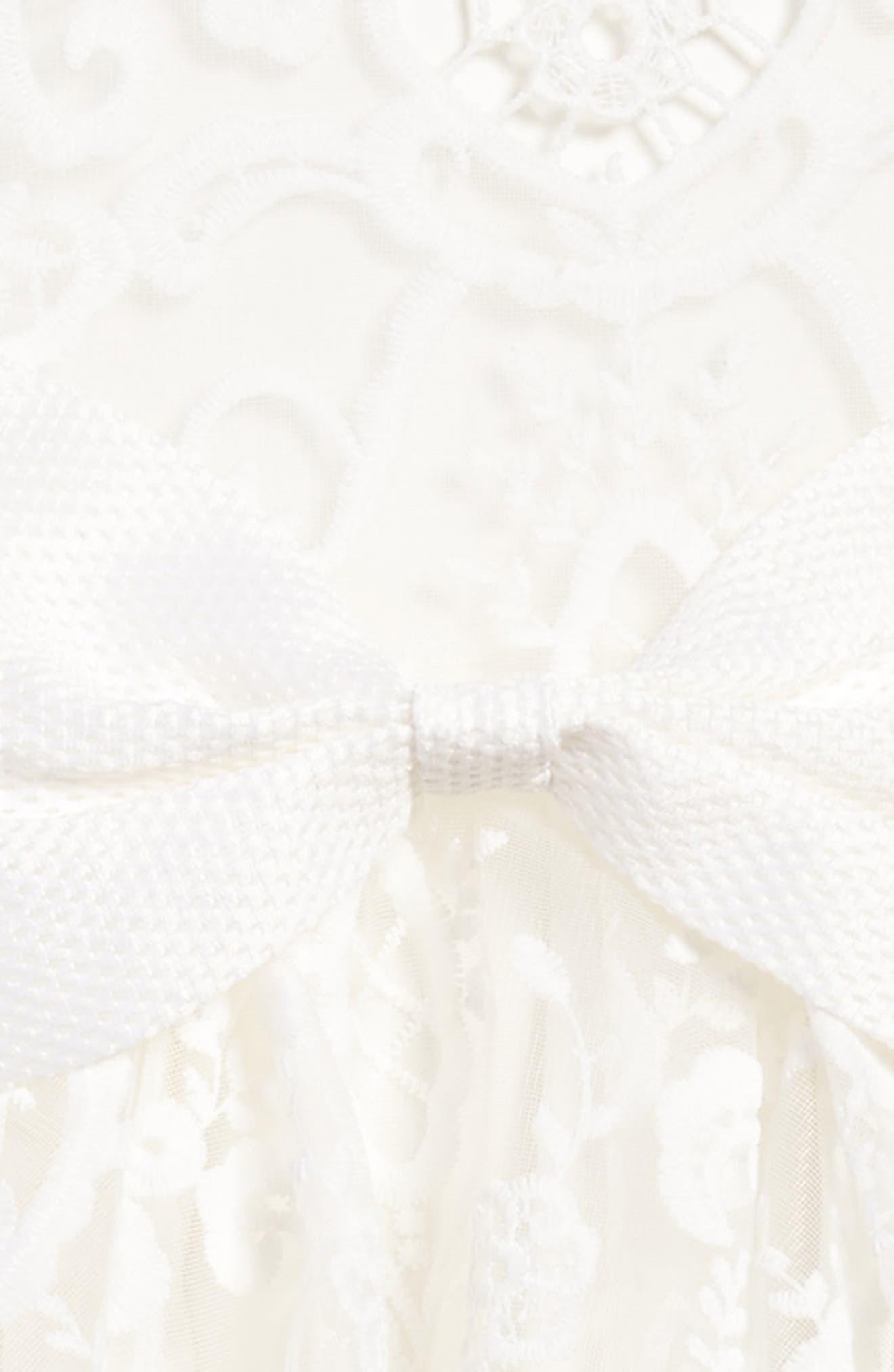 Ava Starlet Dress,                             Alternate thumbnail 3, color,                             Ivory