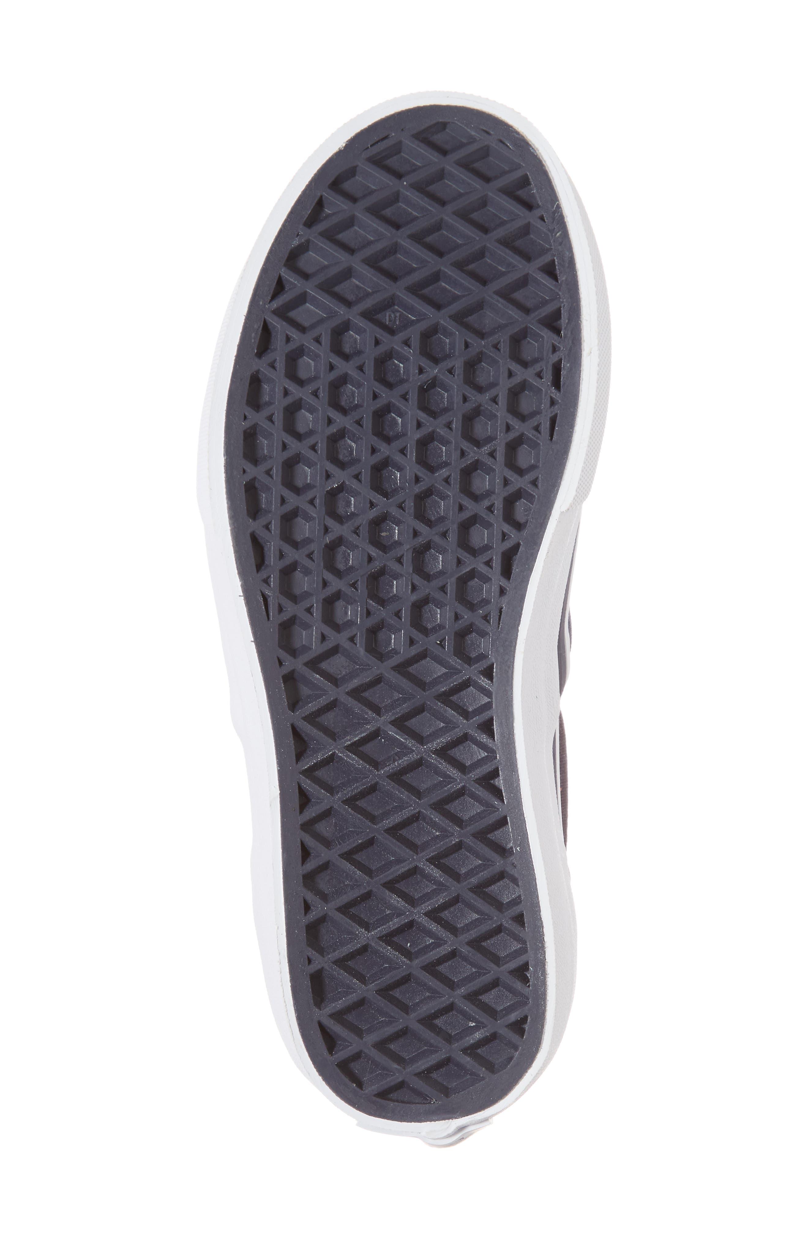 Classic Rainbow Shimmer Star Slip-On Sneaker,                             Alternate thumbnail 6, color,                             Parisian Night Foil Stars