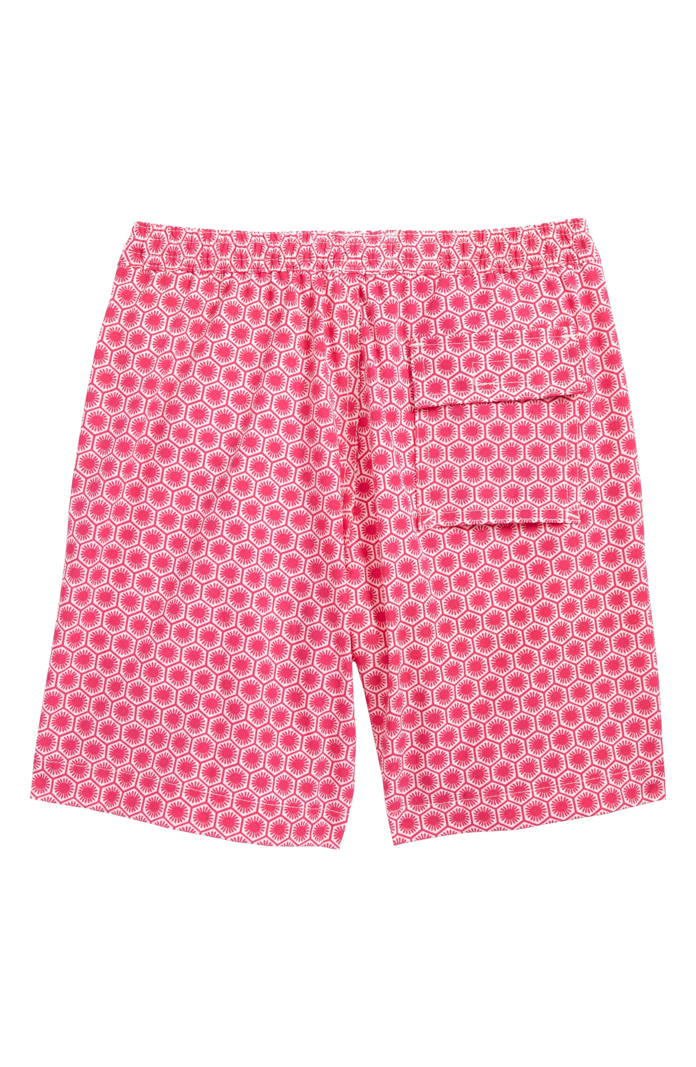 Alternate Image 2  - Psycho Bunny Honeycomb Board Shorts (Little Boys & Big Boys)