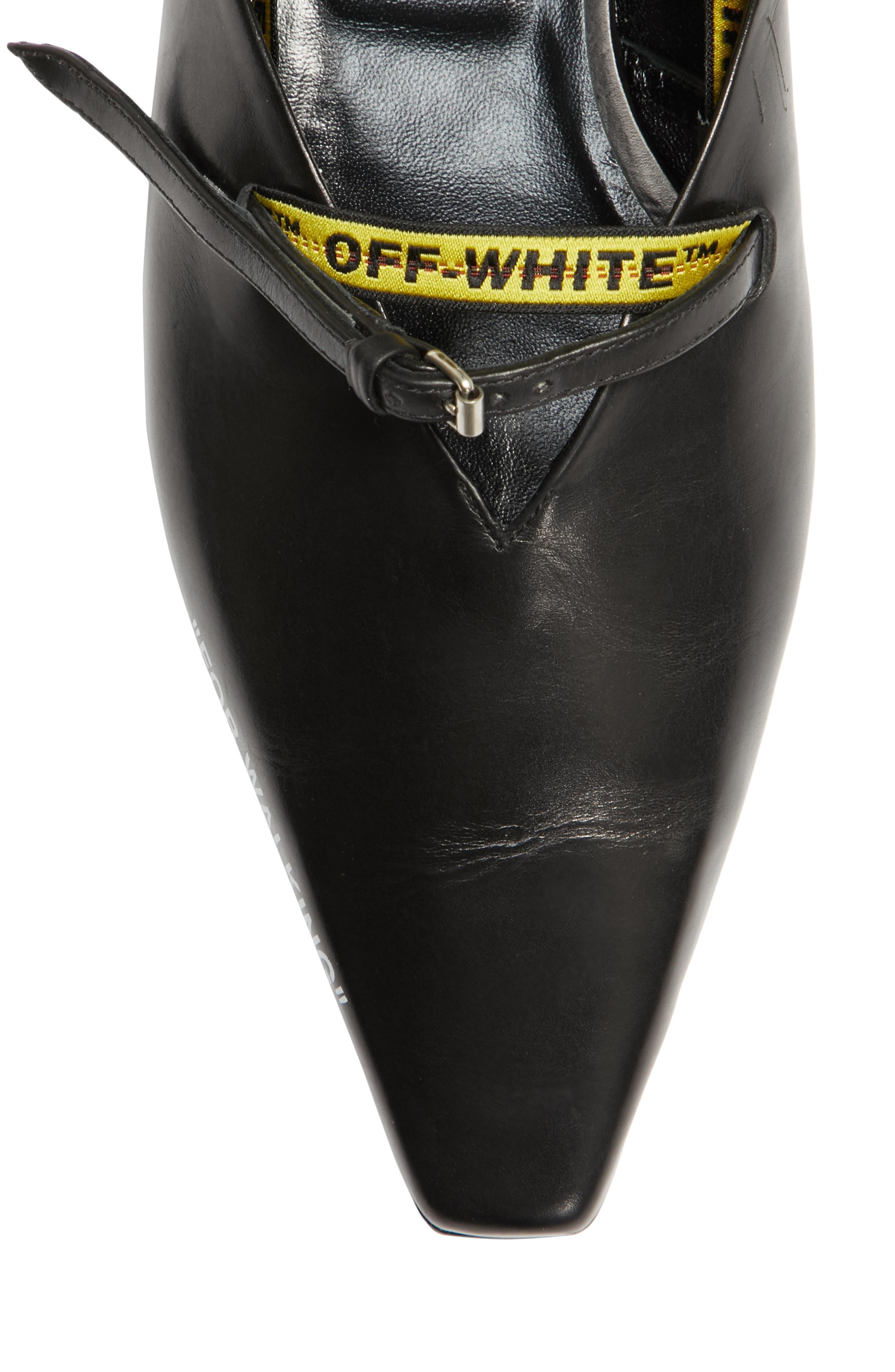 Alternate Image 4  - Off-White For Walking Slipper Flat (Women)