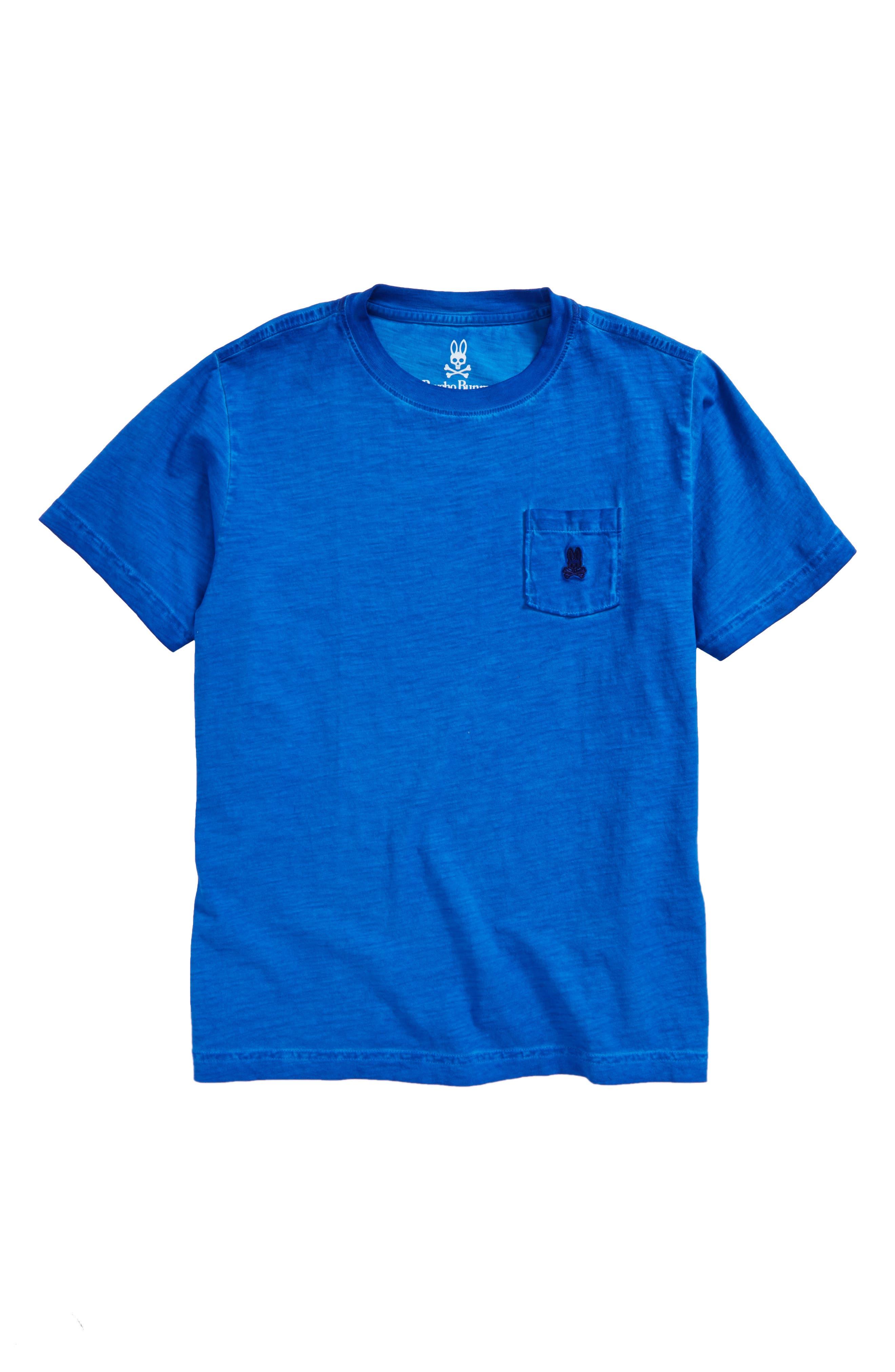 Sunwash Pocket T-Shirt,                         Main,                         color, Lapis