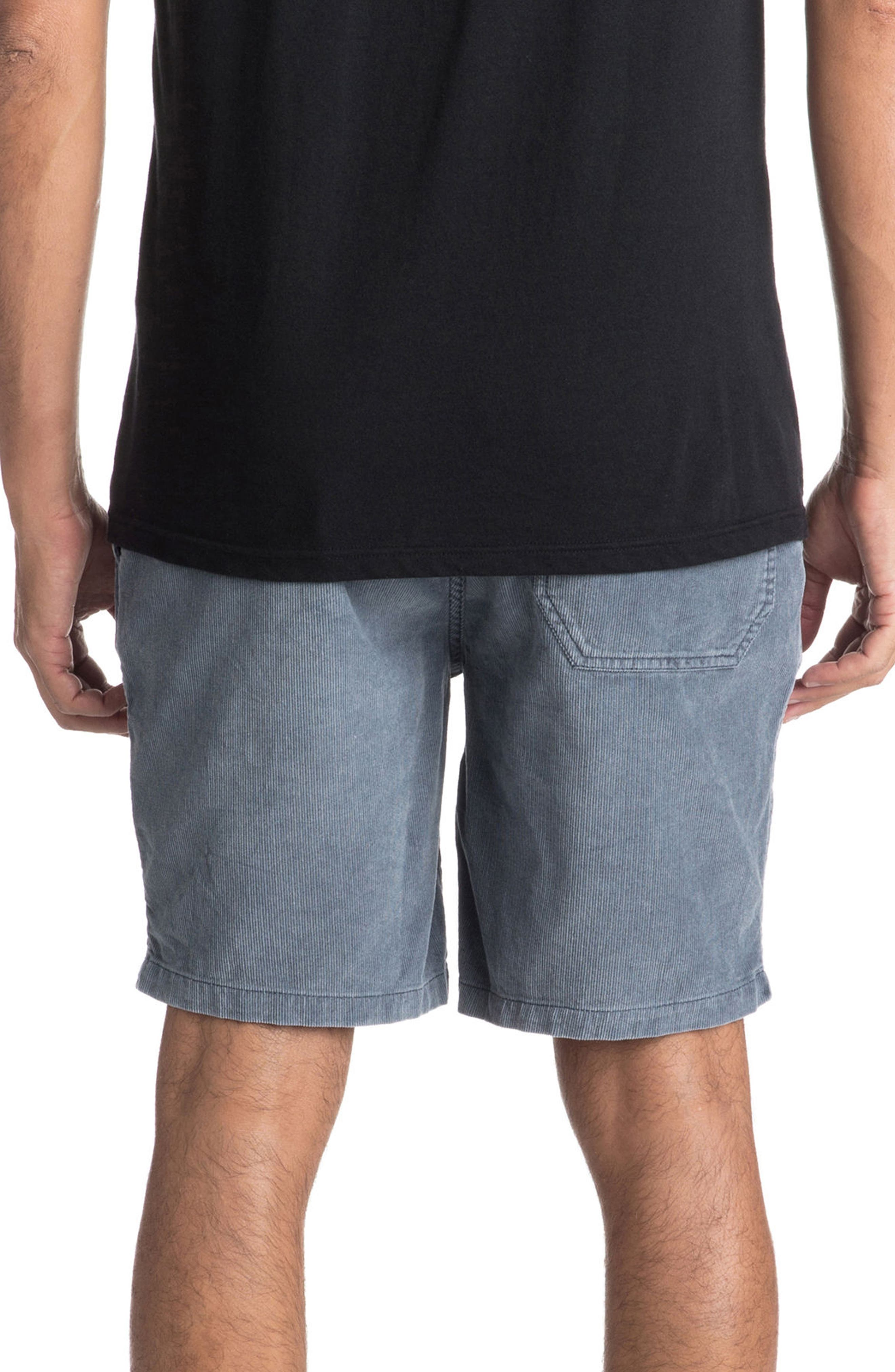 Peaky Mind Shorts,                             Alternate thumbnail 2, color,                             Ombre Blue