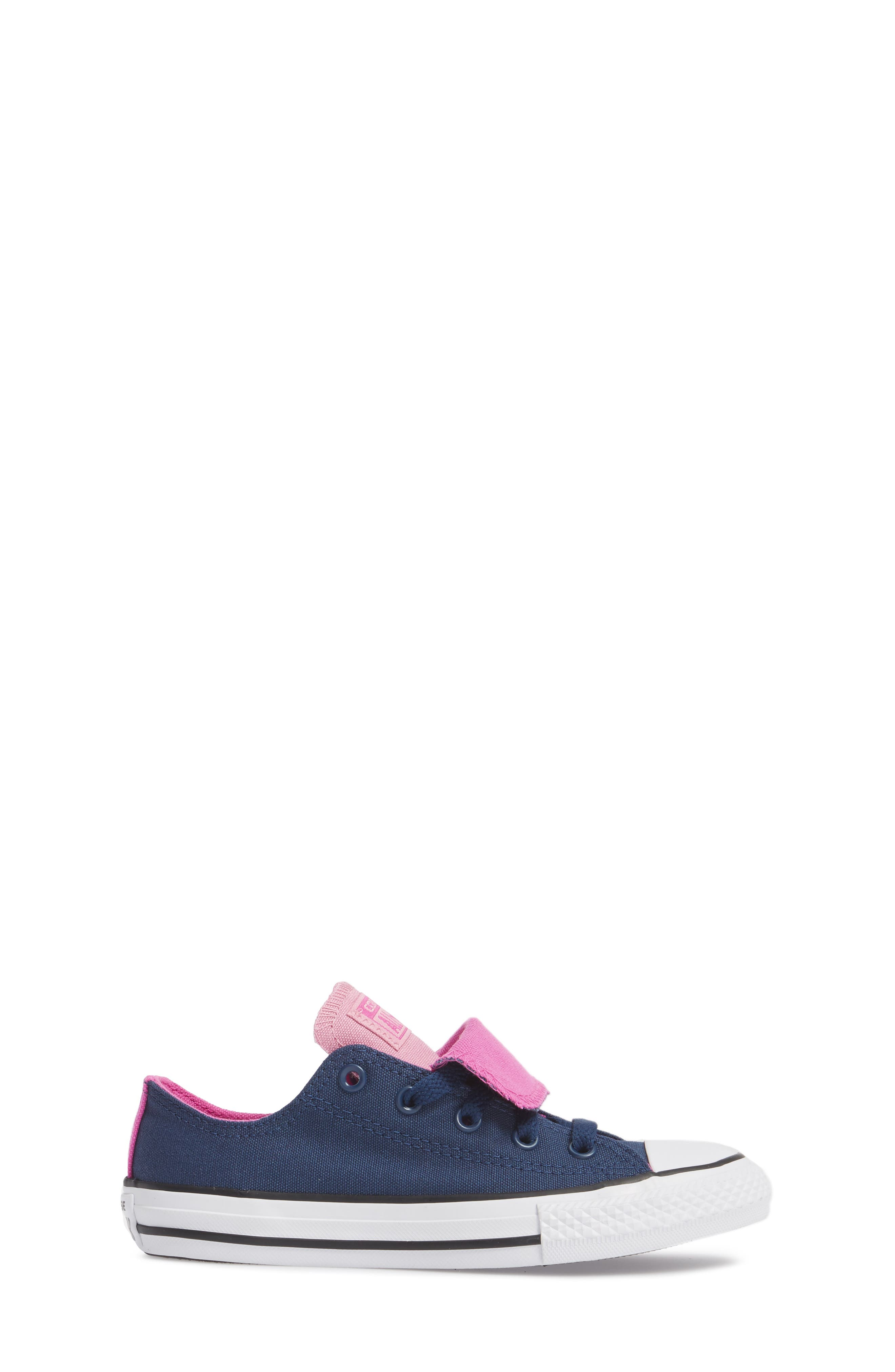 All Star<sup>®</sup> Double Tongue Sneaker,                             Alternate thumbnail 3, color,                             Navy