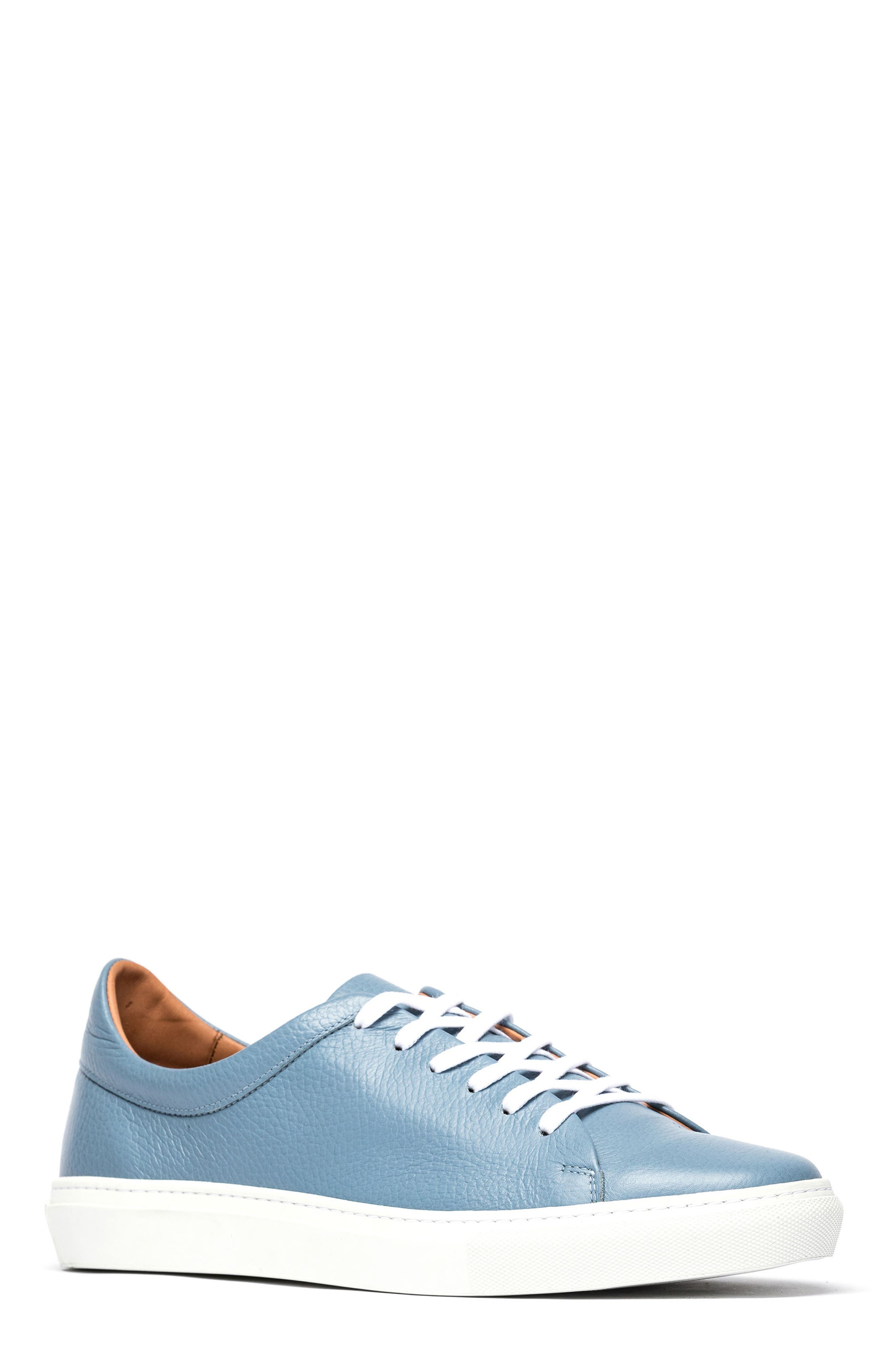 Windemere Sneaker,                             Main thumbnail 1, color,                             Sky Blue Leather