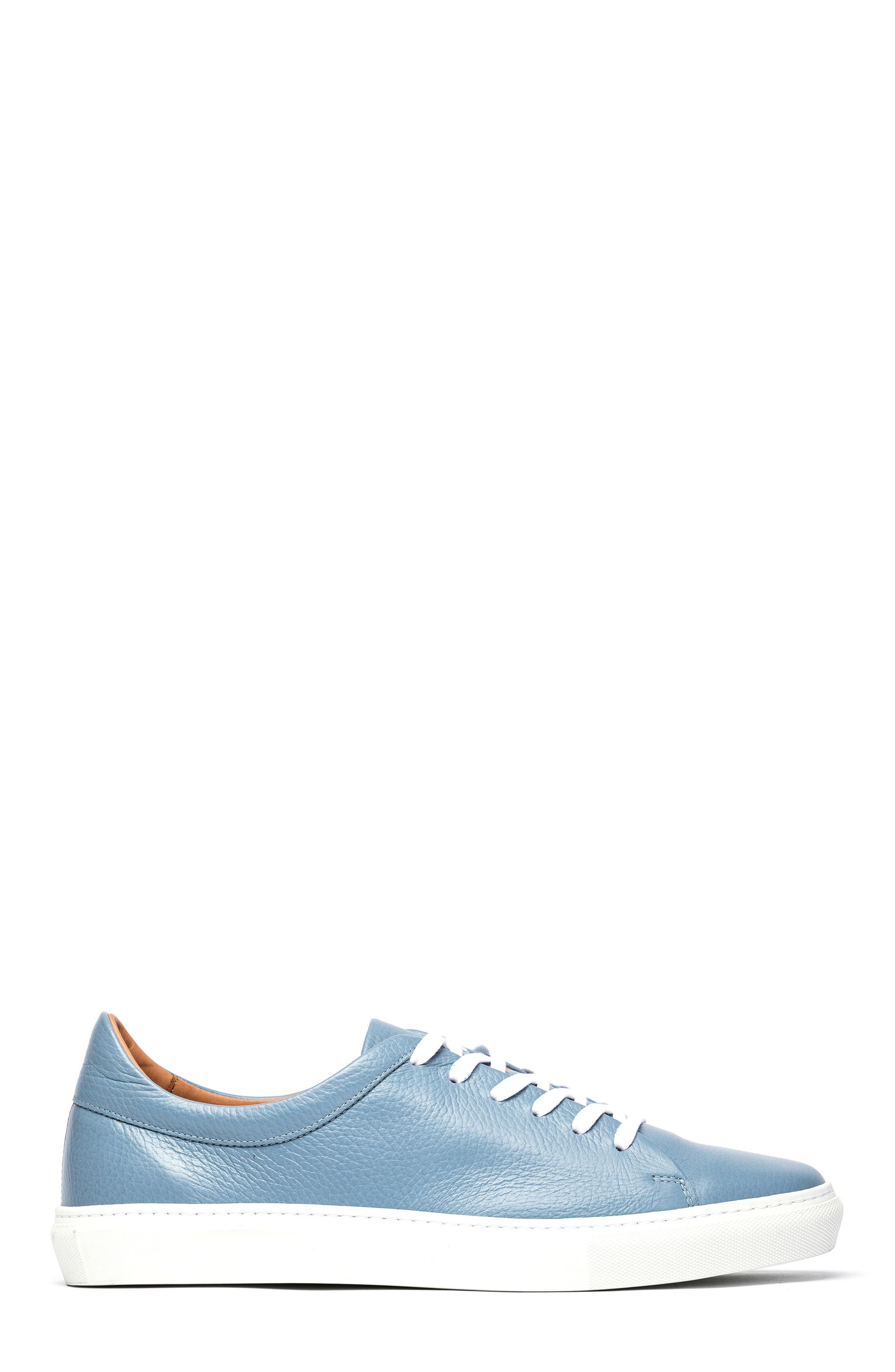Windemere Sneaker,                             Alternate thumbnail 3, color,                             Sky Blue Leather