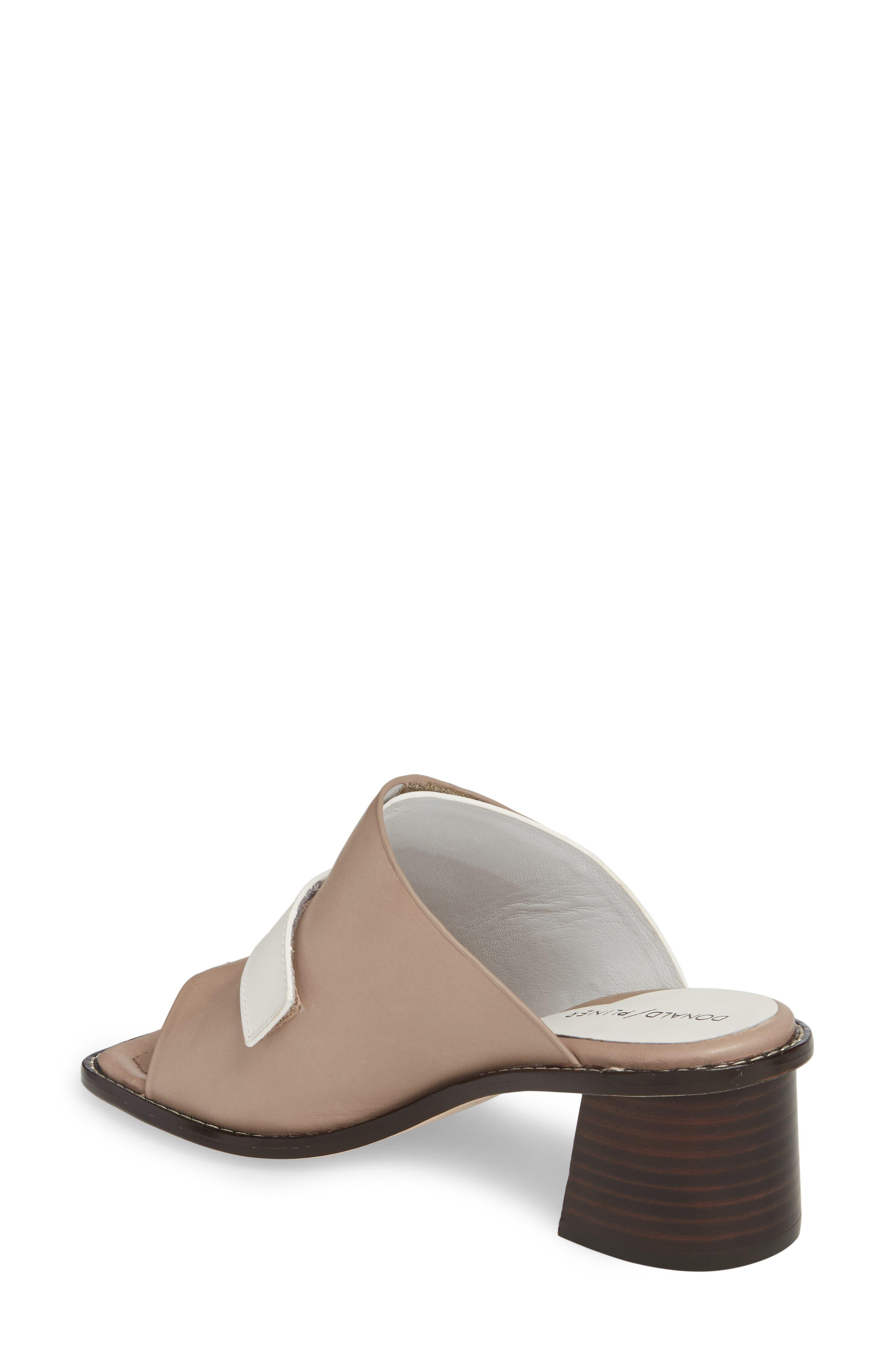 Amalia Block Heel Sandal,                             Alternate thumbnail 2, color,                             Bone Leather