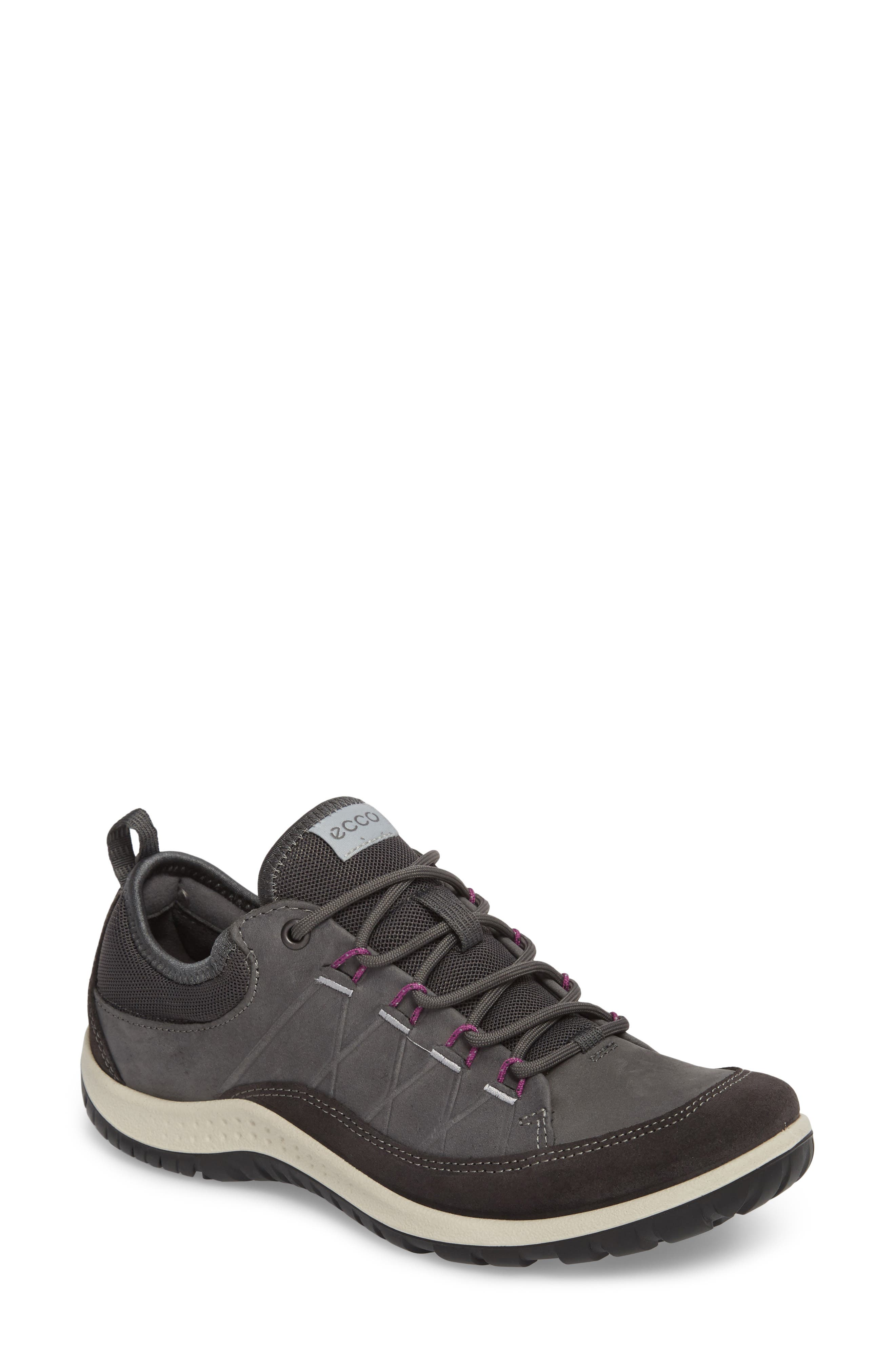 'Aspina' Sneaker,                         Main,                         color, Moonless Leather