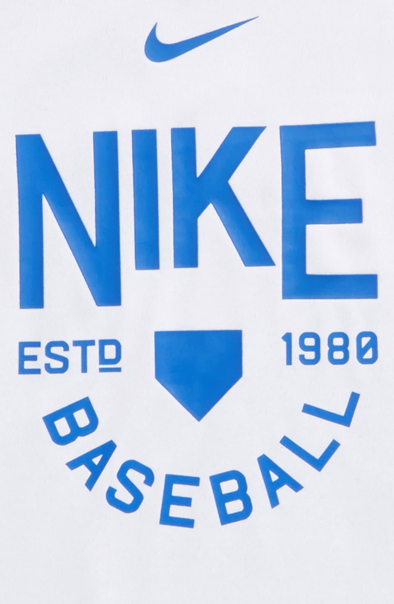 Alternate Image 2  - Nike Dry Legend Baseball T-Shirt (Little Boys & Big Boys)