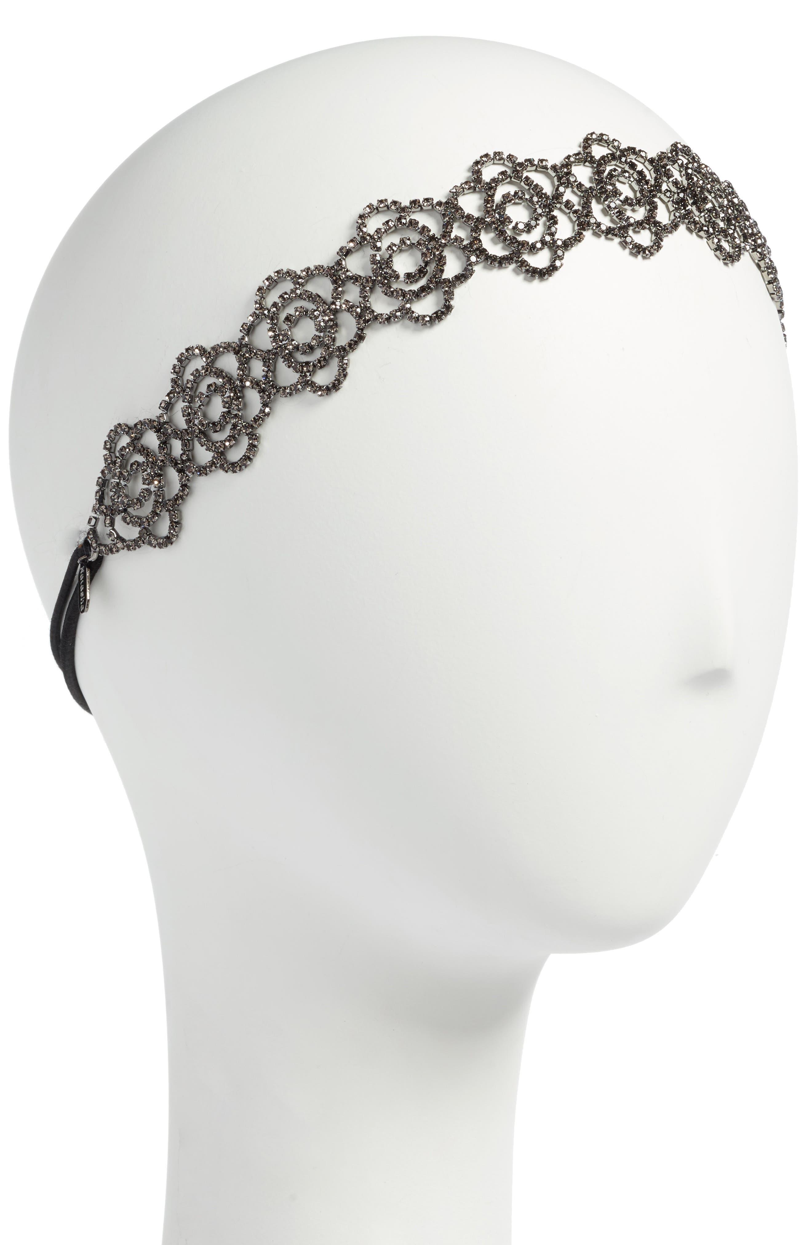 Main Image - Tasha Botanical Crystal Head Wrap
