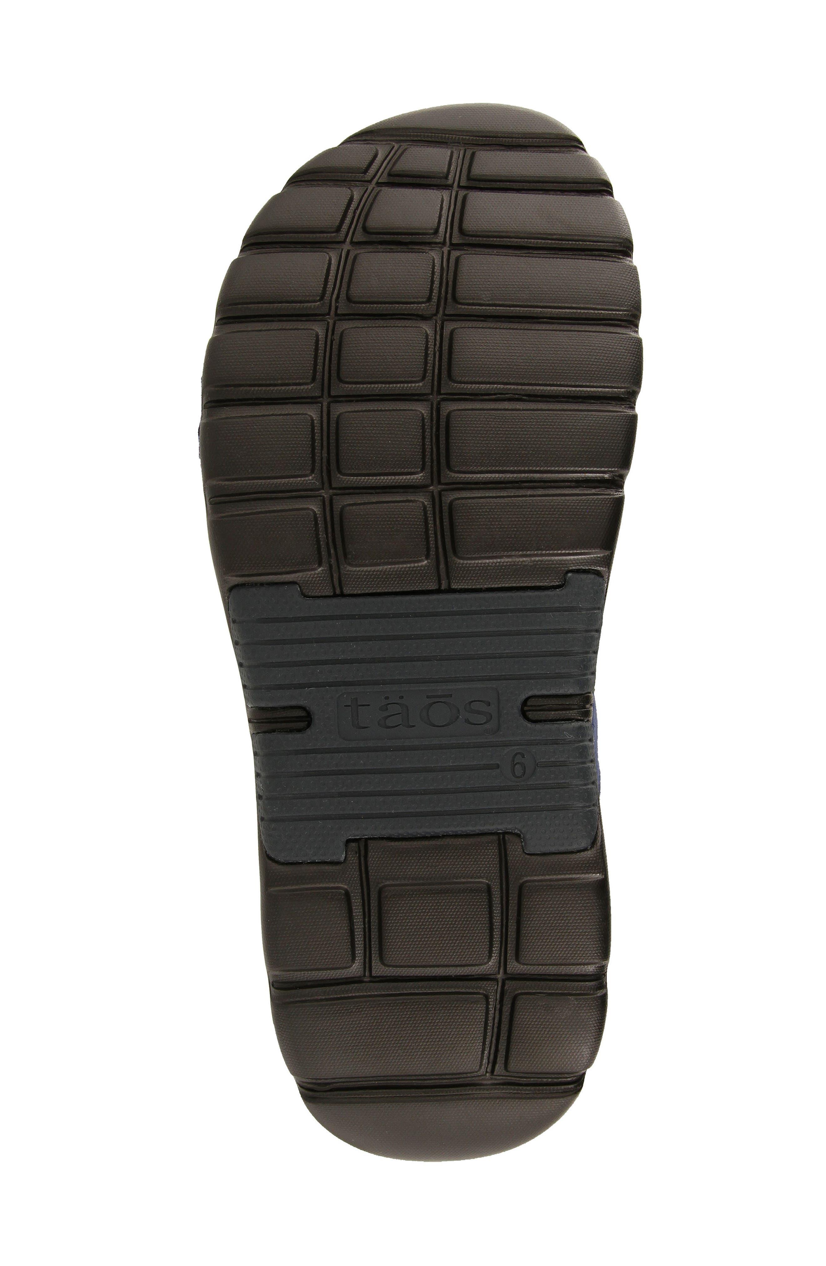Zen Sandal,                             Alternate thumbnail 5, color,                             Navy/ Blue Leather