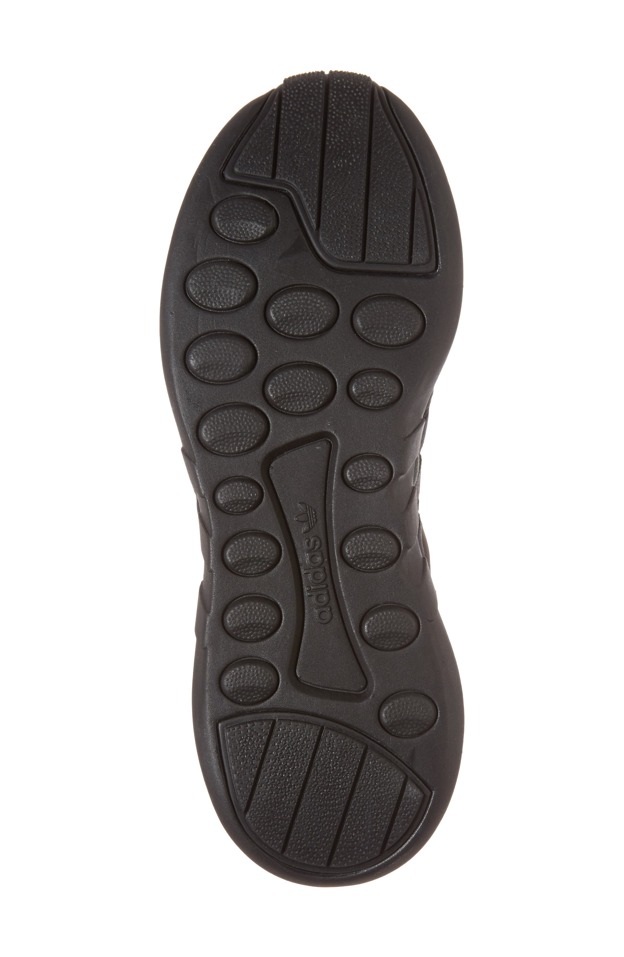 EQT Support Adv Sneaker,                             Alternate thumbnail 6, color,                             Core Black / Black / White