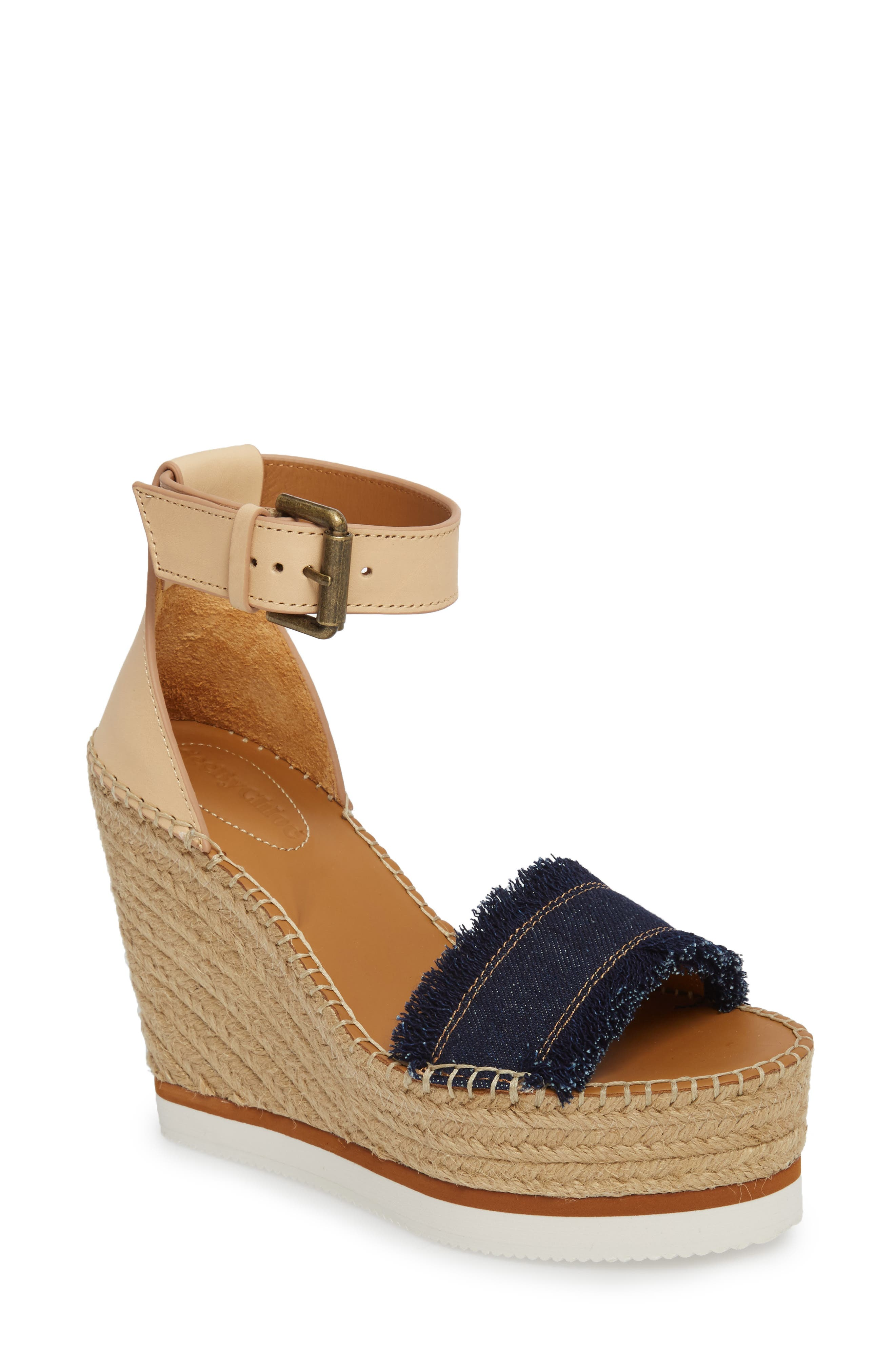 Main Image - See by Chloé 'Glyn' Espadrille Wedge Sandal (Women)